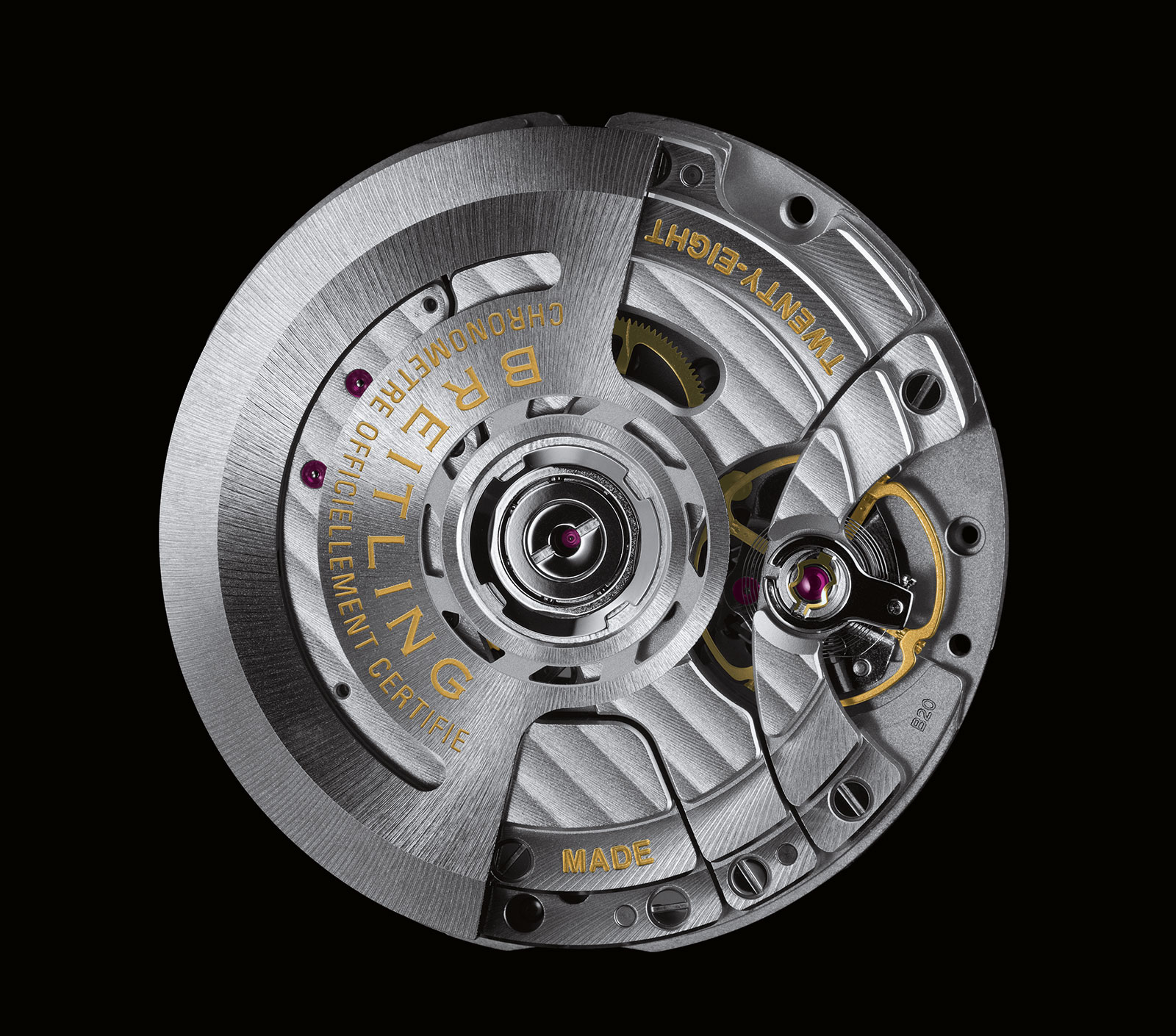 Breitling B20 movement