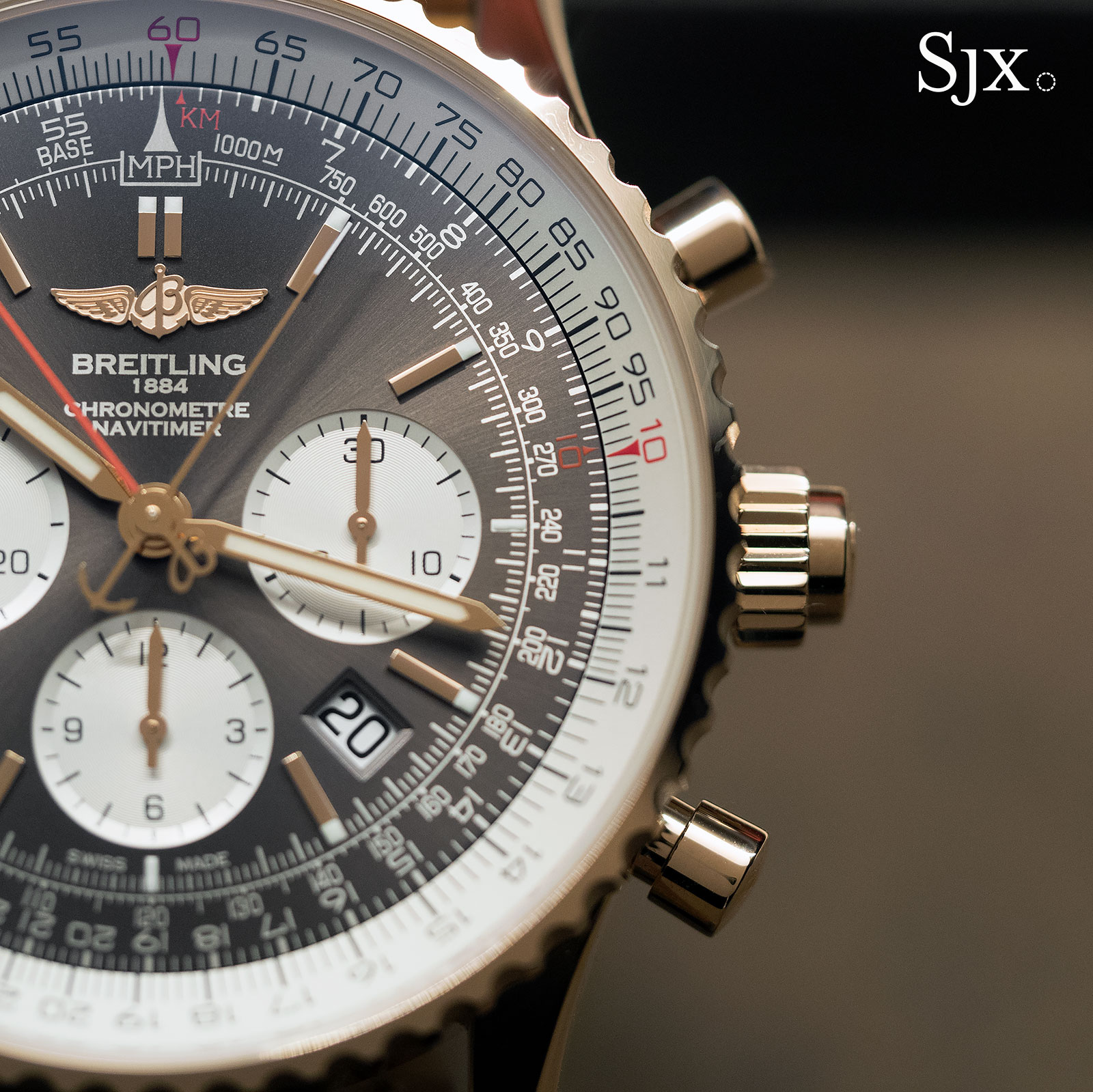 Breitling Navitimer Rattrapante red gold 14