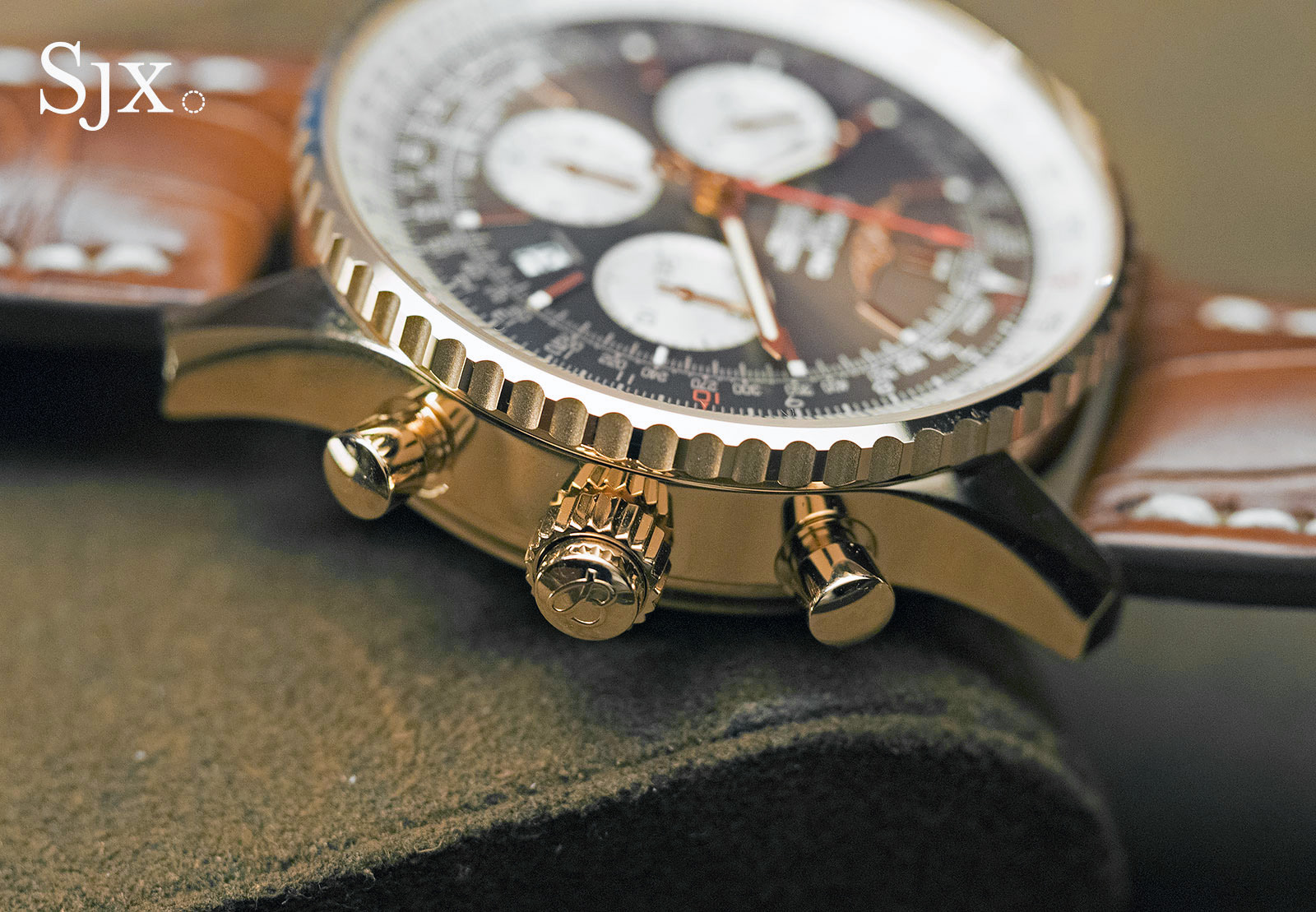 Breitling Navitimer Rattrapante red gold 15