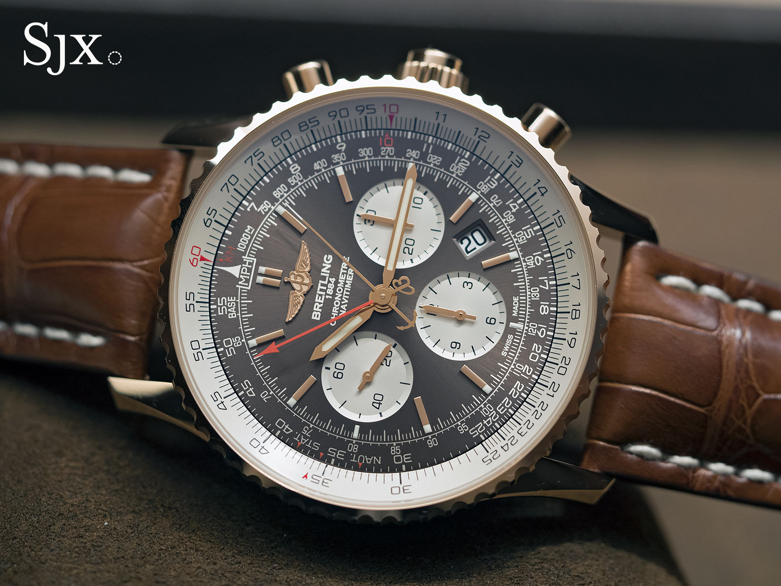 Breitling Navitimer Rattrapante red gold 7