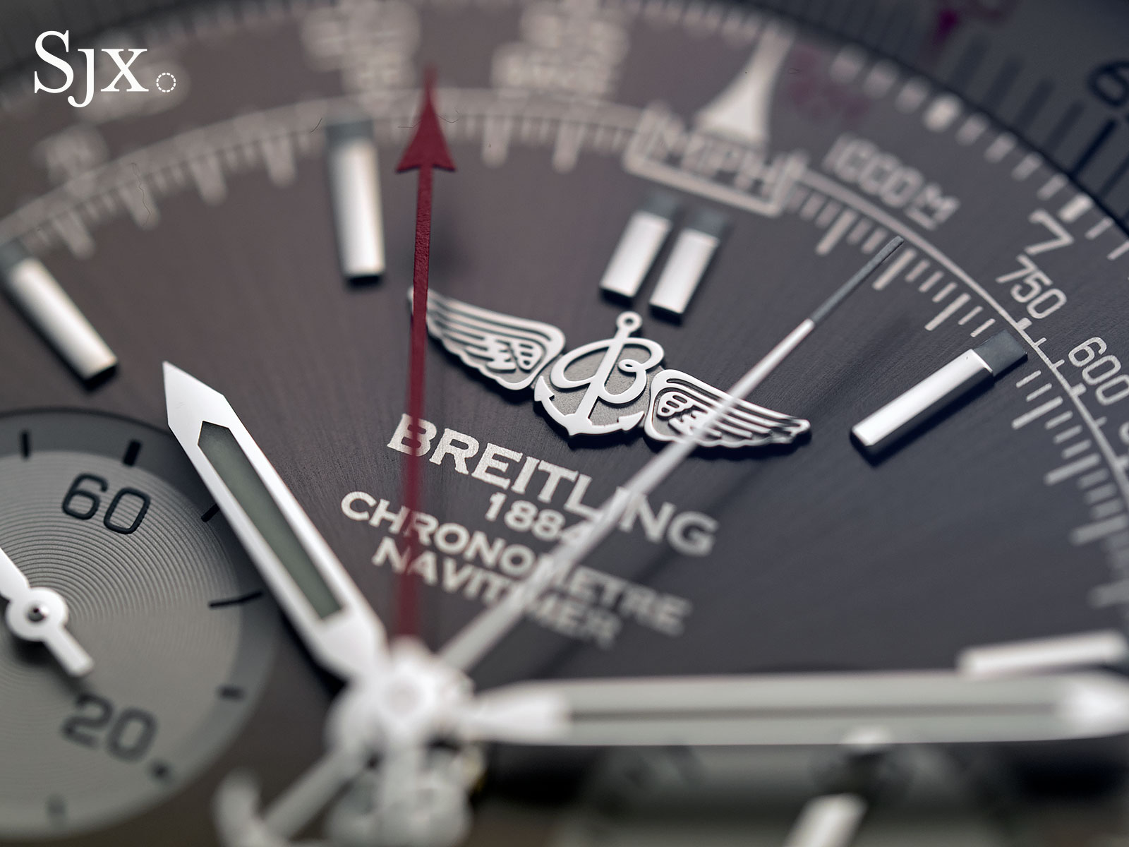 Breitling Navitimer Rattrapante split-seconds 2