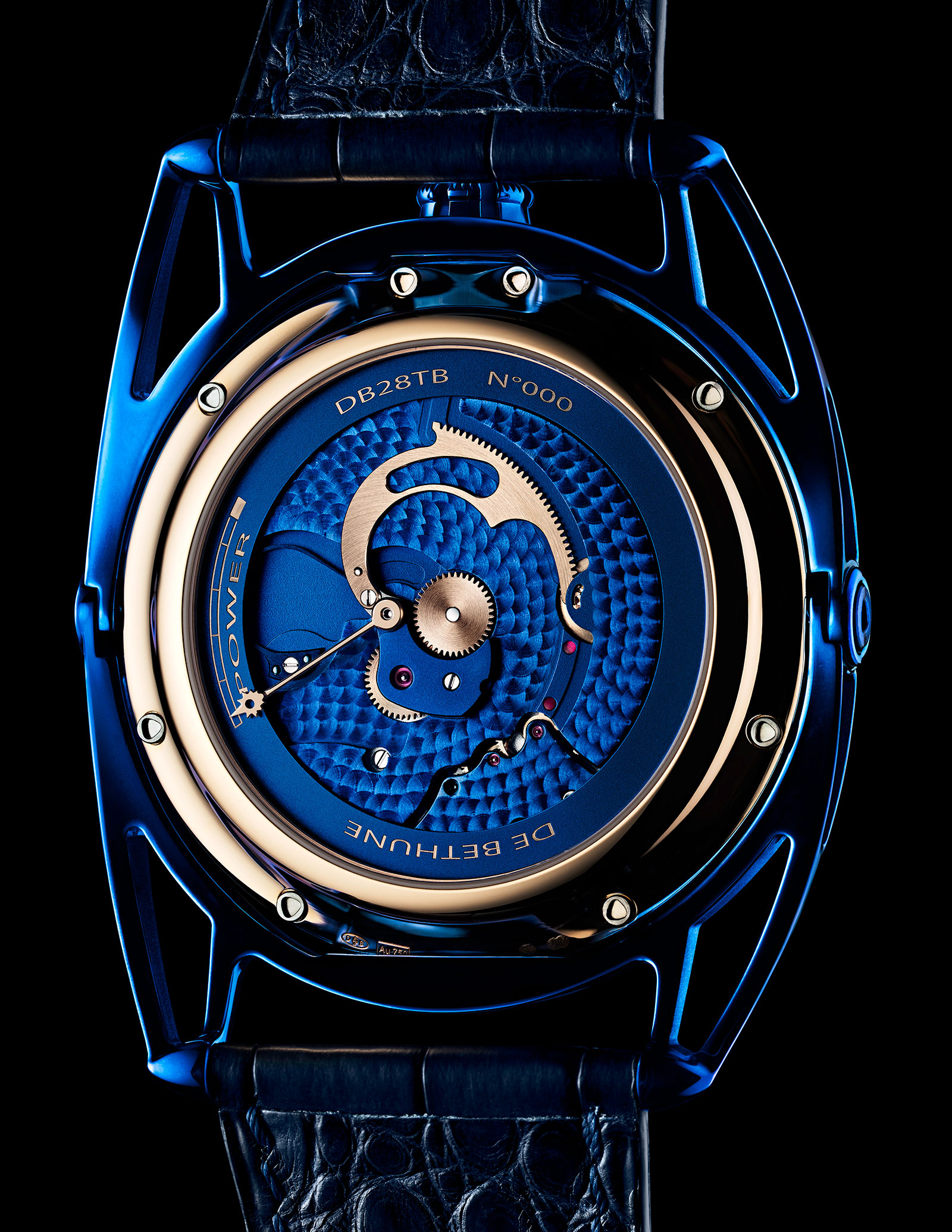 De Bethune DB28 Kind of Blue Tourbillon Meteorite 1
