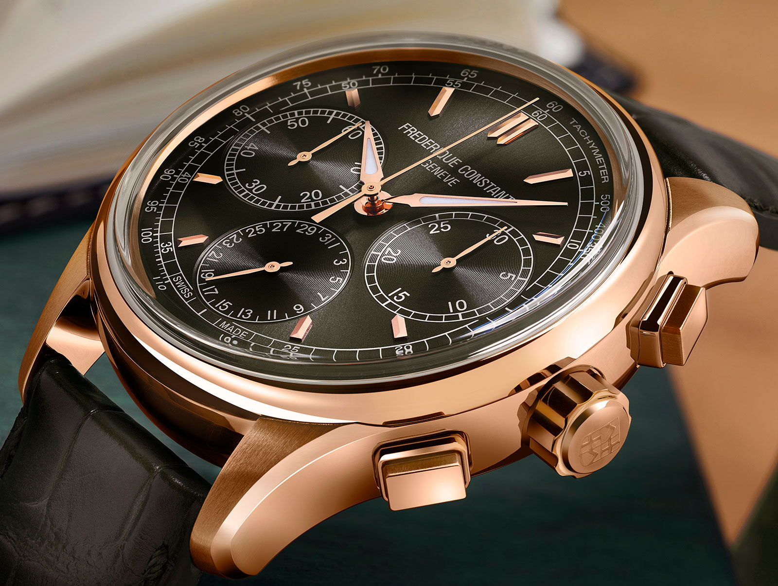 Frederique Constant Flyback Chronograph Manufacture 2