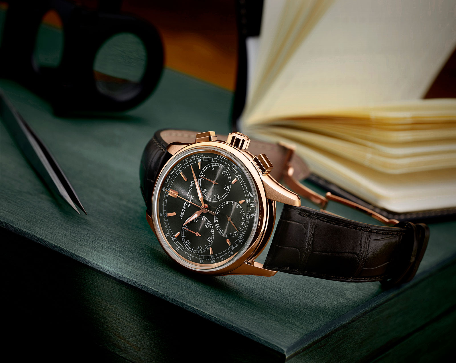 Frederique Constant Flyback Chronograph Manufacture 3