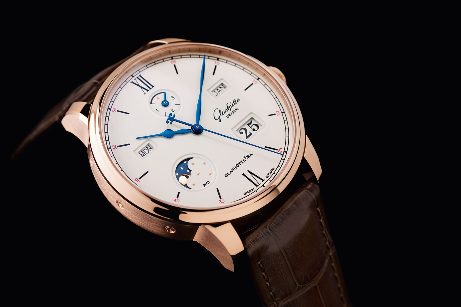 Glashutte Original Senator Excellence Perpetual Calendar red gold 1