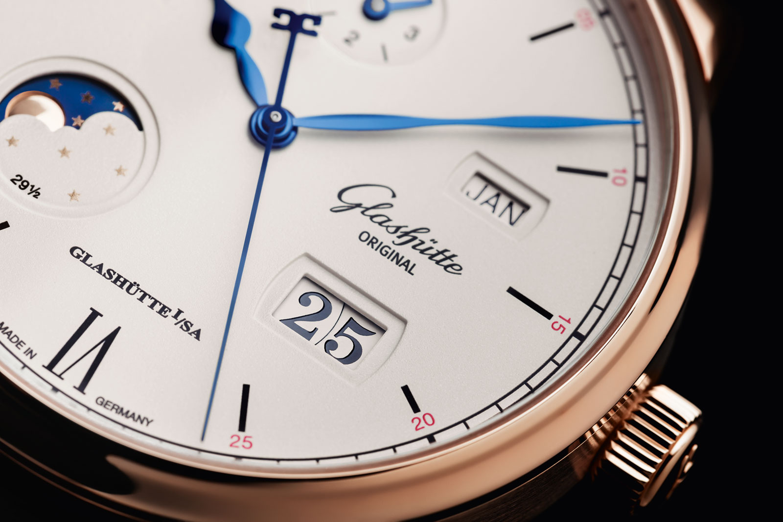 Glashutte Original Senator Excellence Perpetual Calendar red gold 2