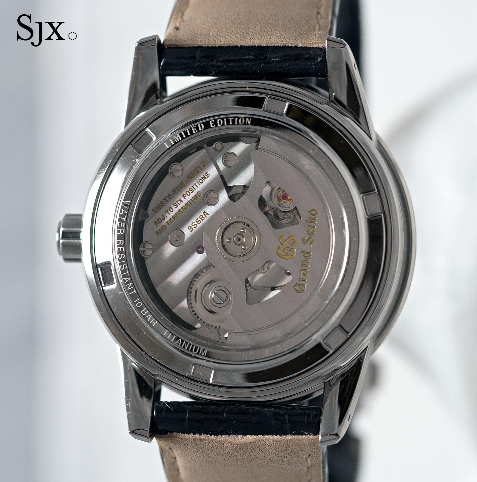 Grand Seiko SBGR305 titanium 10