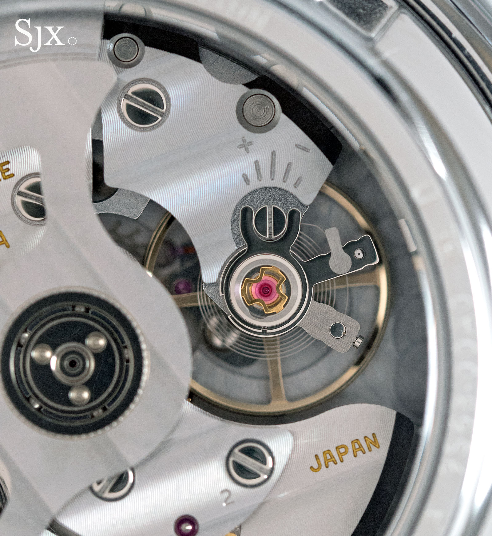 Grand Seiko SBGR305 titanium 12