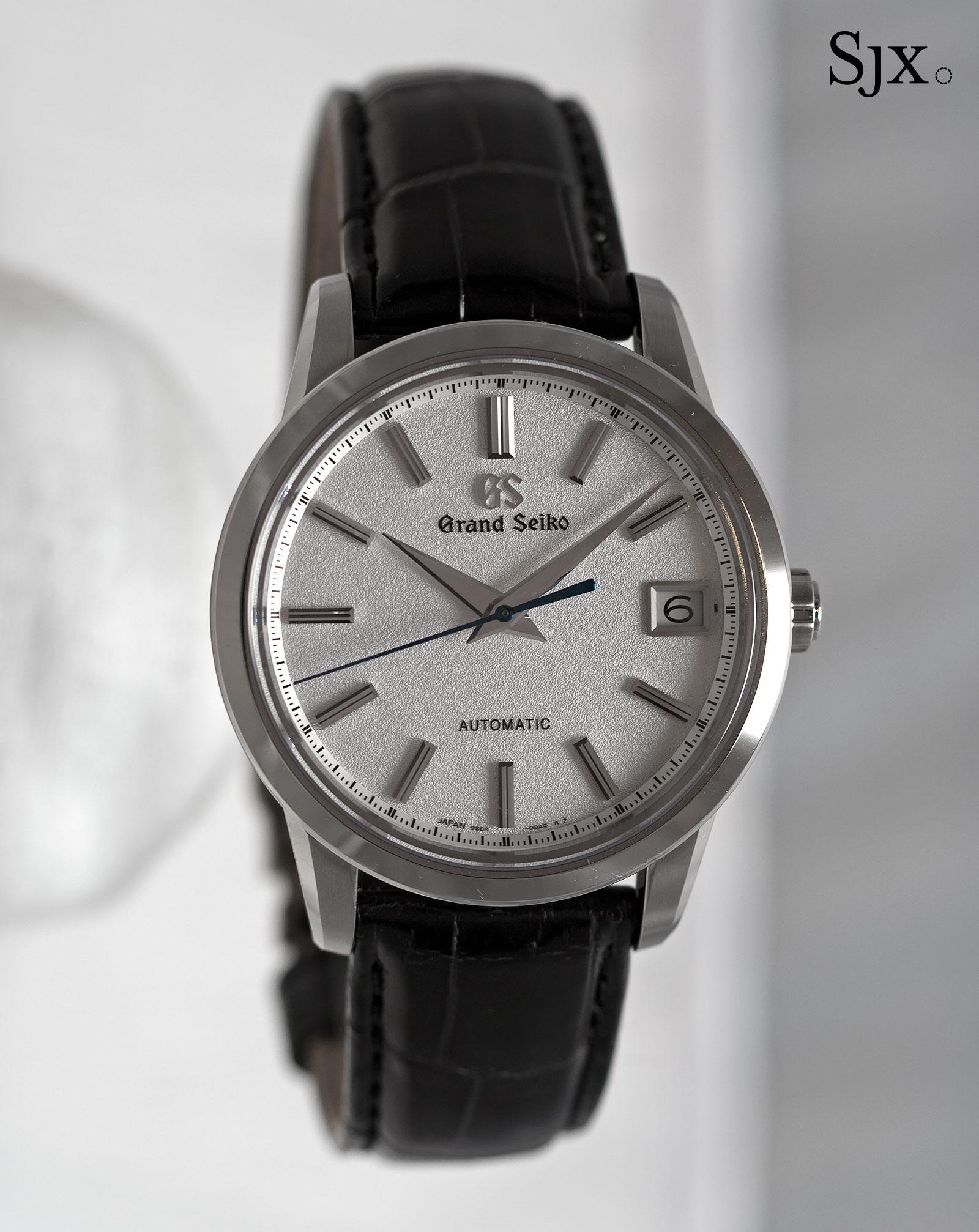 Grand Seiko SBGR305 titanium 2