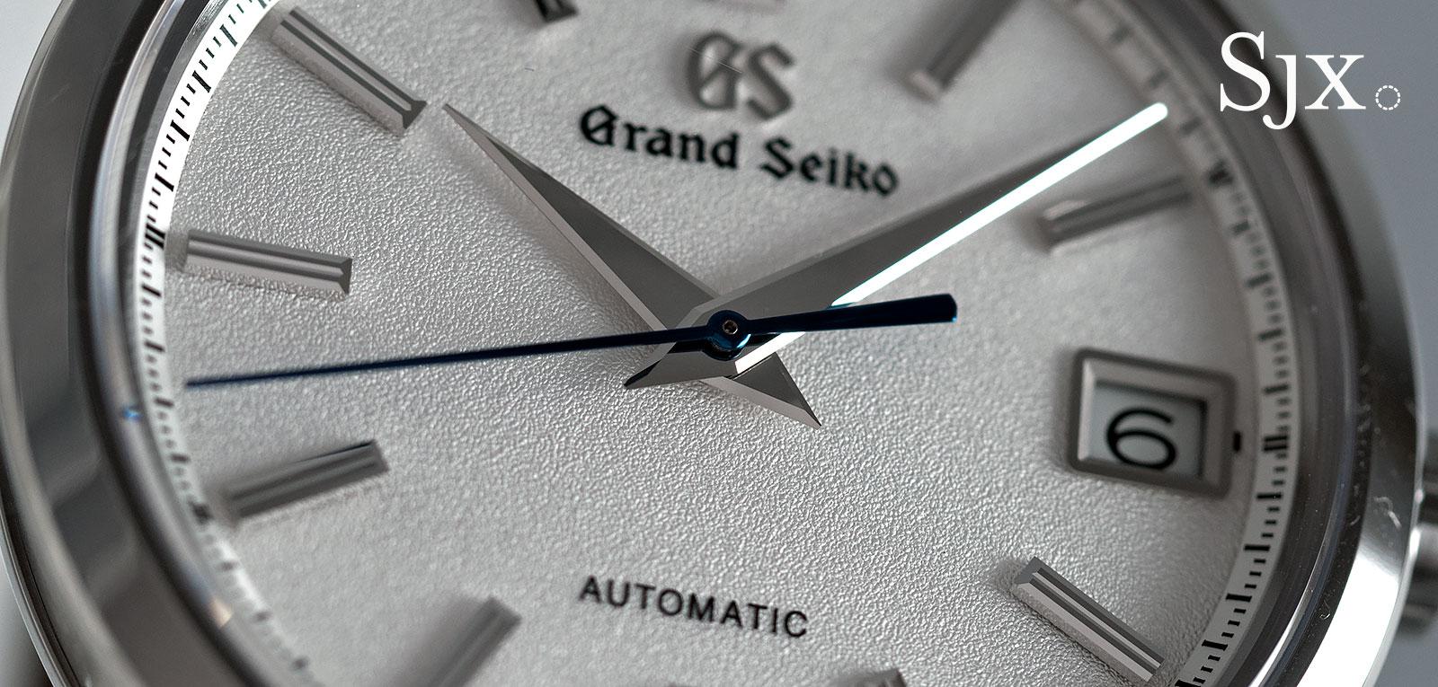 Grand Seiko SBGR305 titanium 7