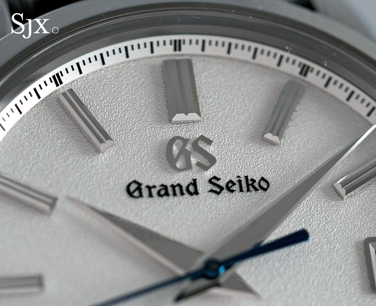 Grand Seiko SBGR305 titanium 9