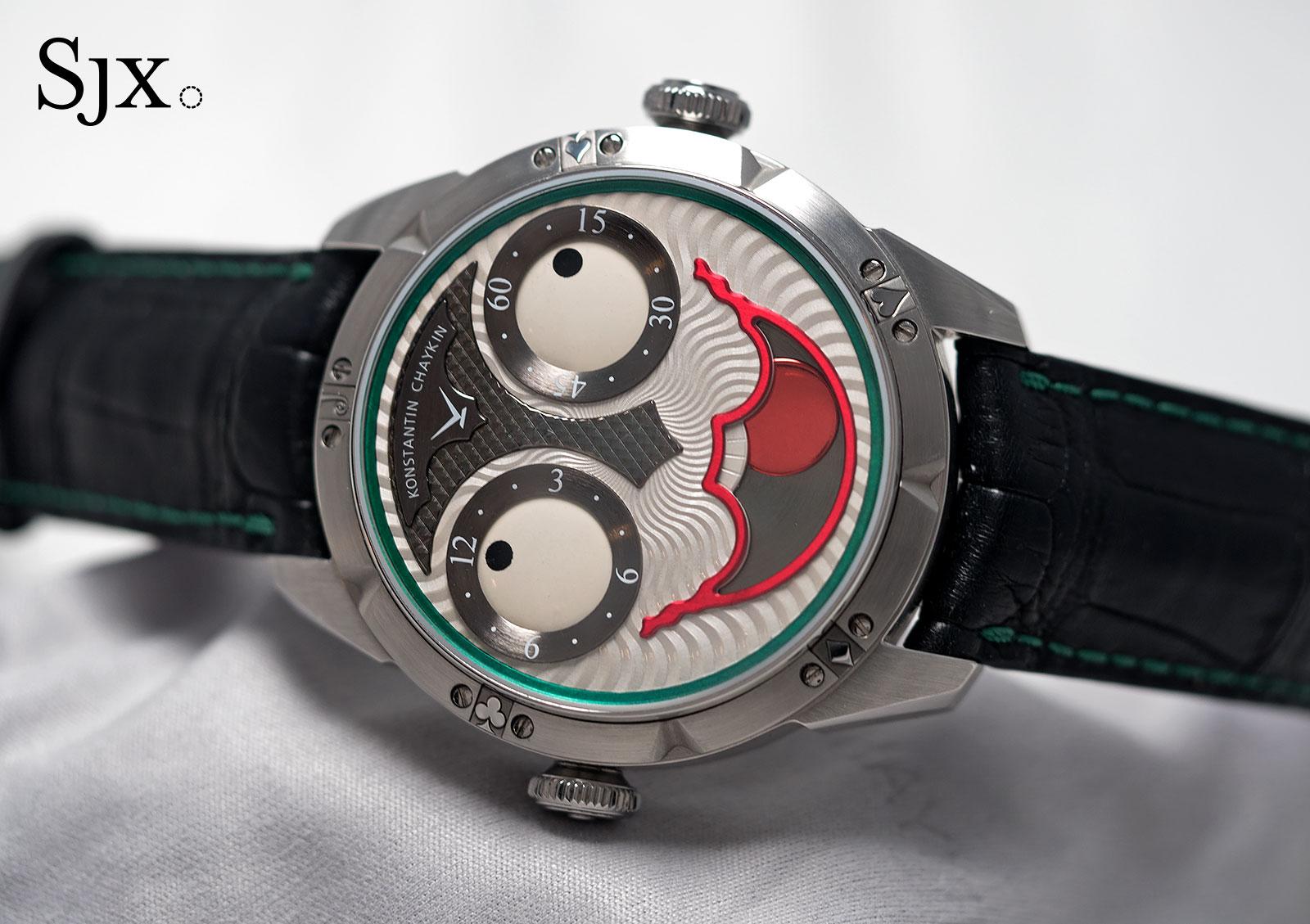 Konstantin Chaykin Joker wristwatch 1