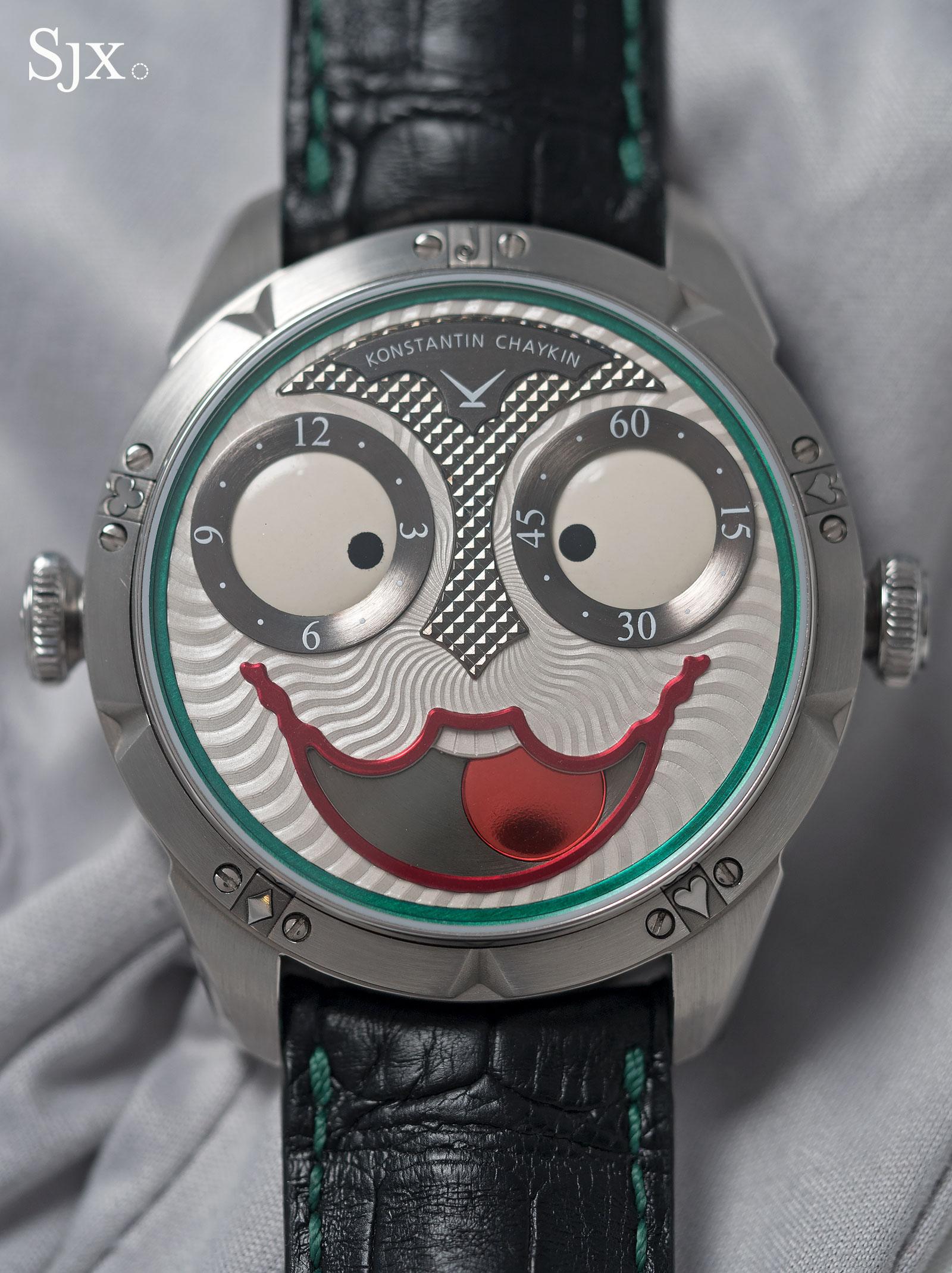 Konstantin Chaykin Joker wristwatch 11
