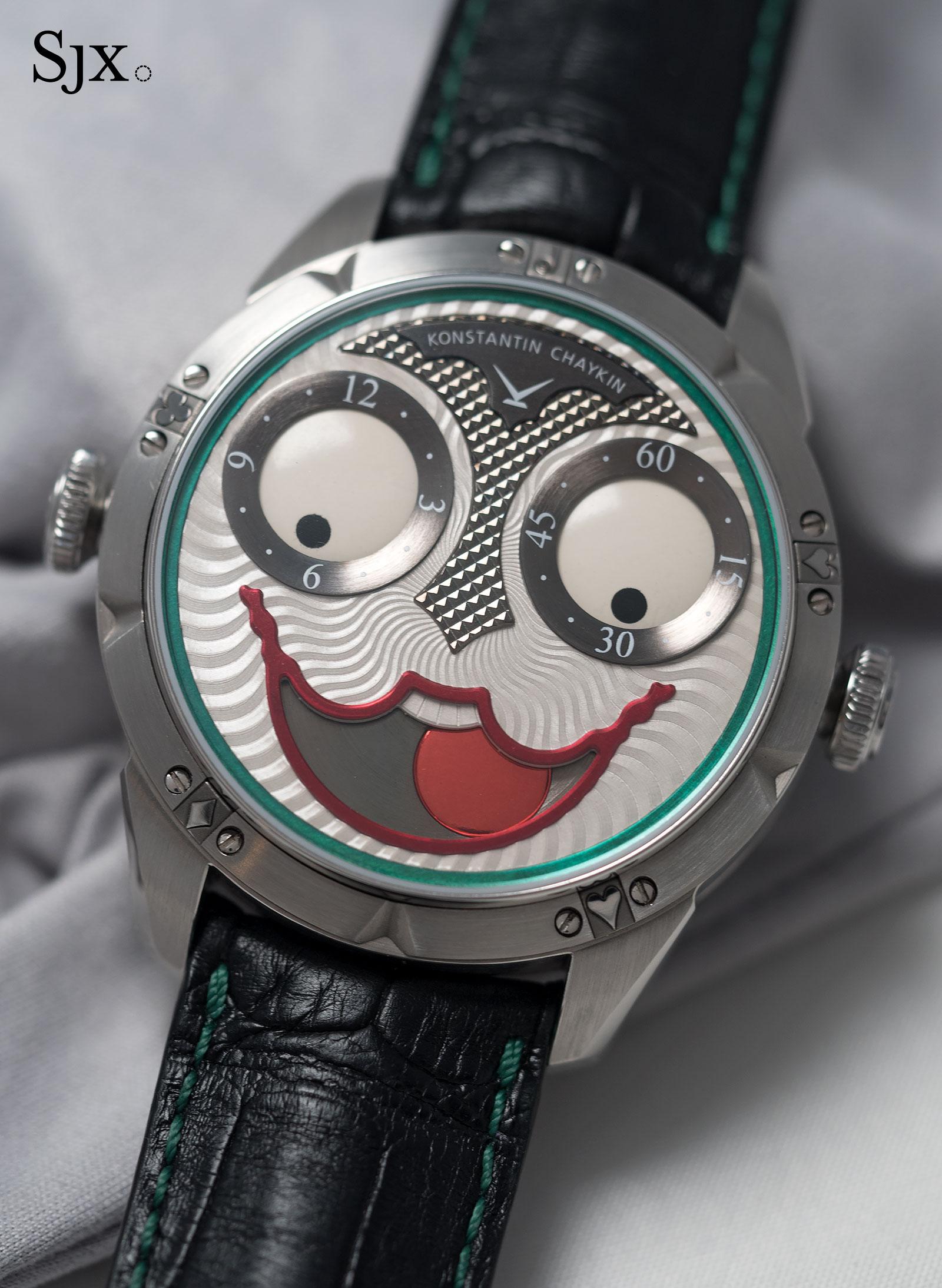 Konstantin Chaykin Joker wristwatch 12