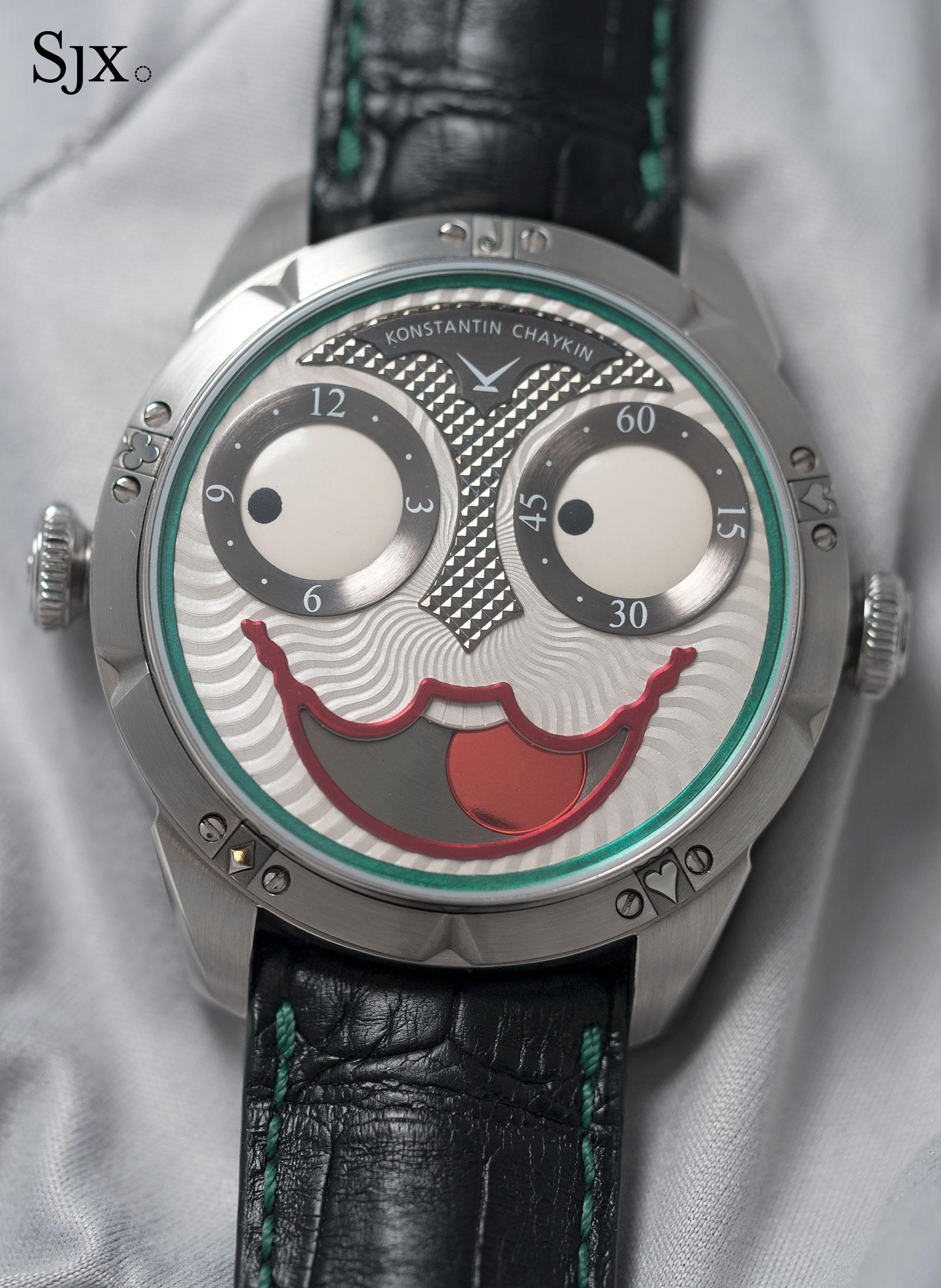 Konstantin Chaykin Joker wristwatch 13