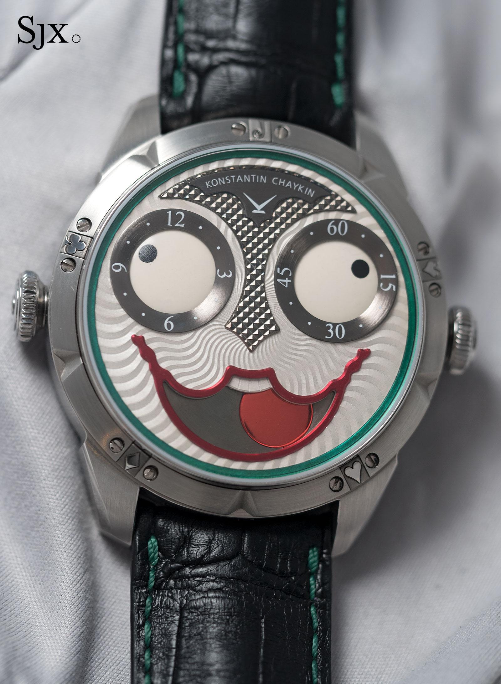 Konstantin Chaykin Joker wristwatch 14