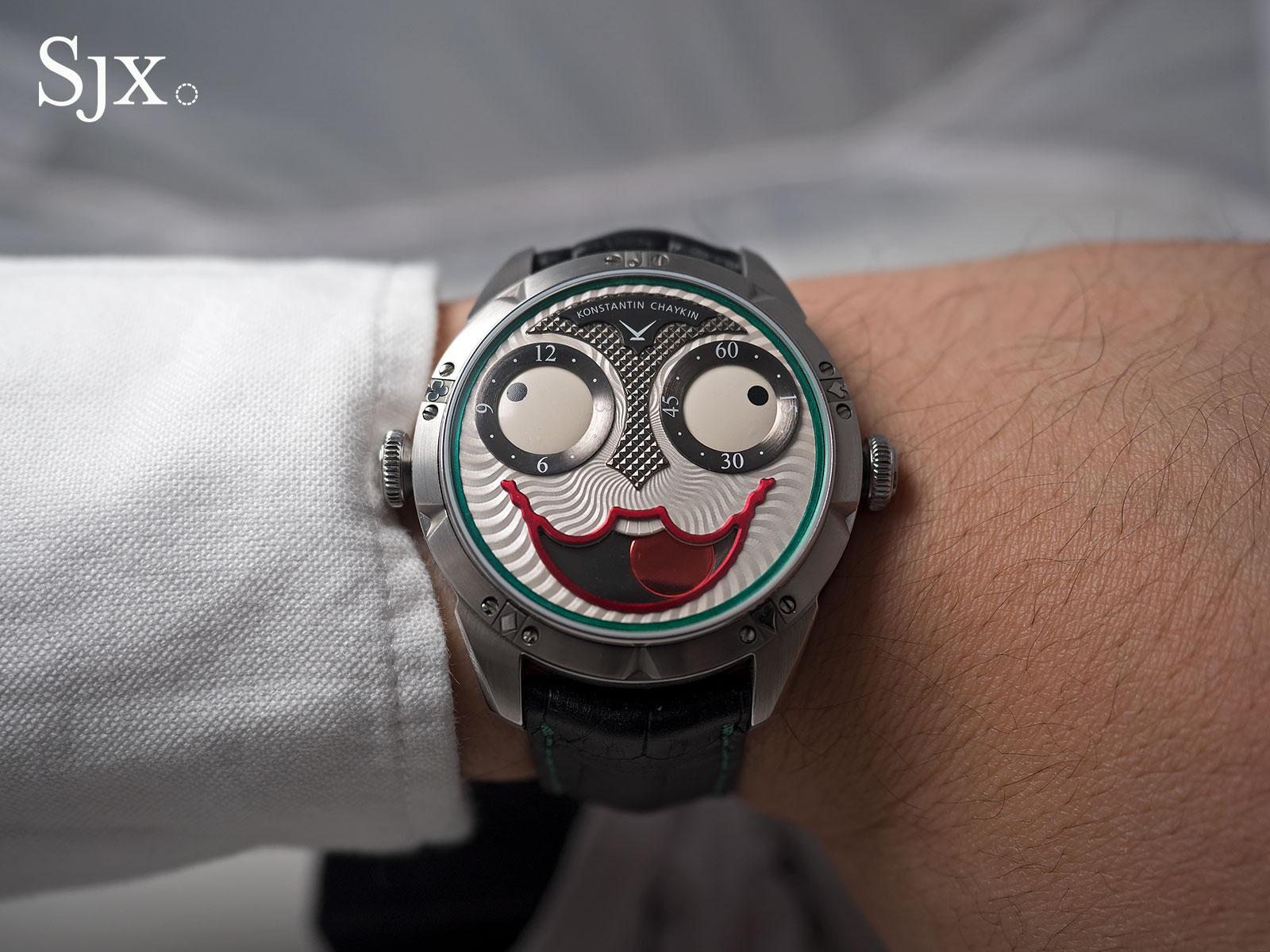 Konstantin Chaykin Joker wristwatch 15