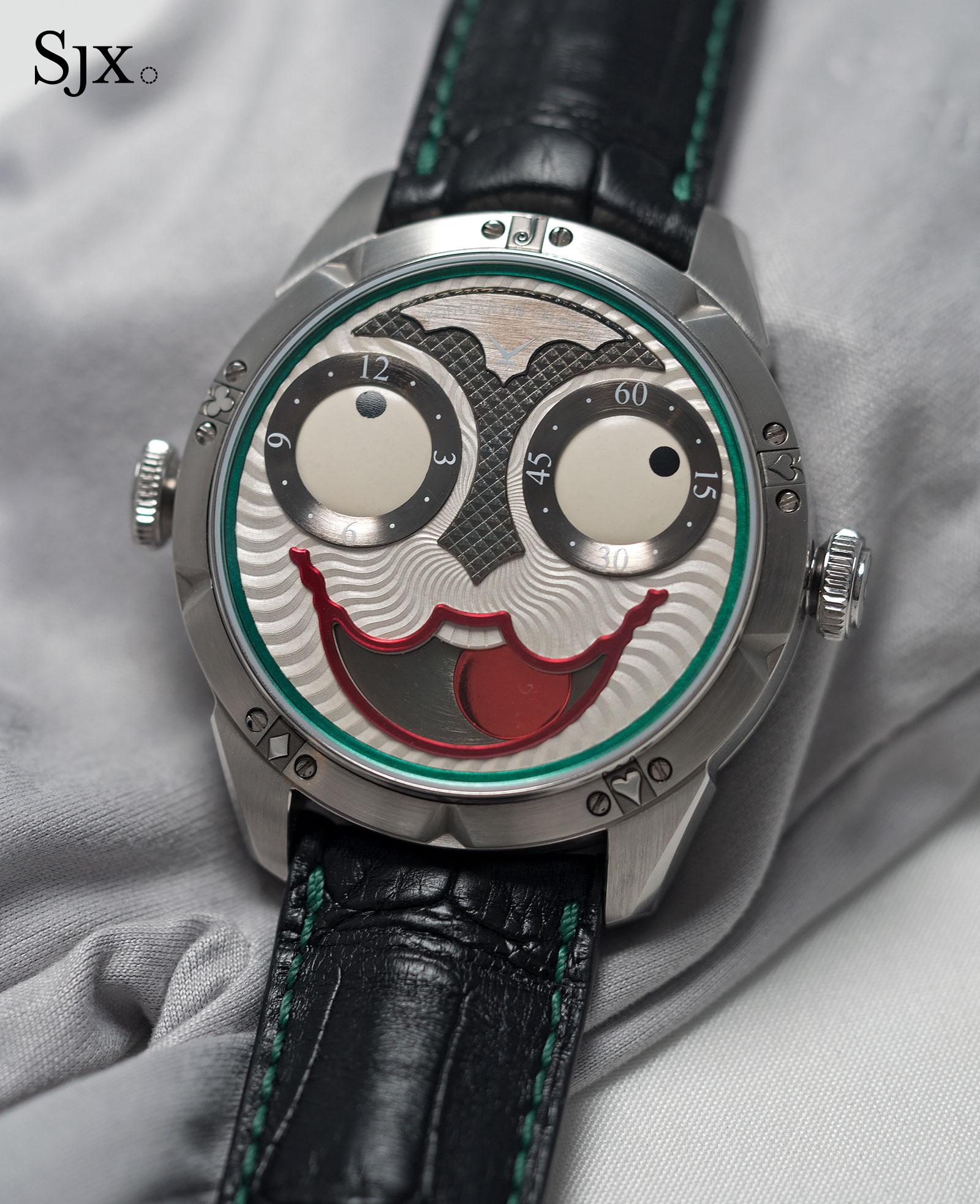 Konstantin Chaykin Joker wristwatch 2