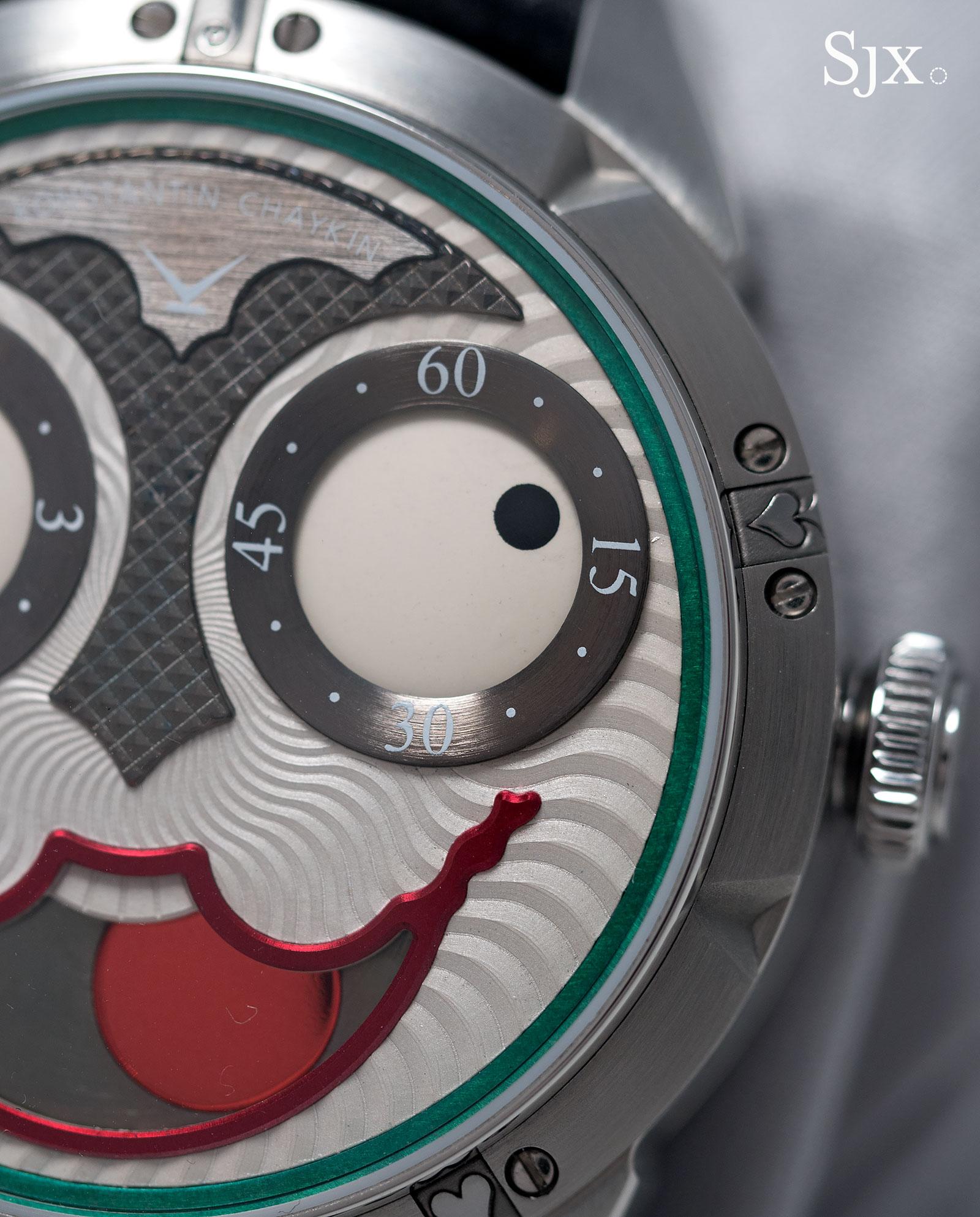 Konstantin Chaykin Joker wristwatch 3