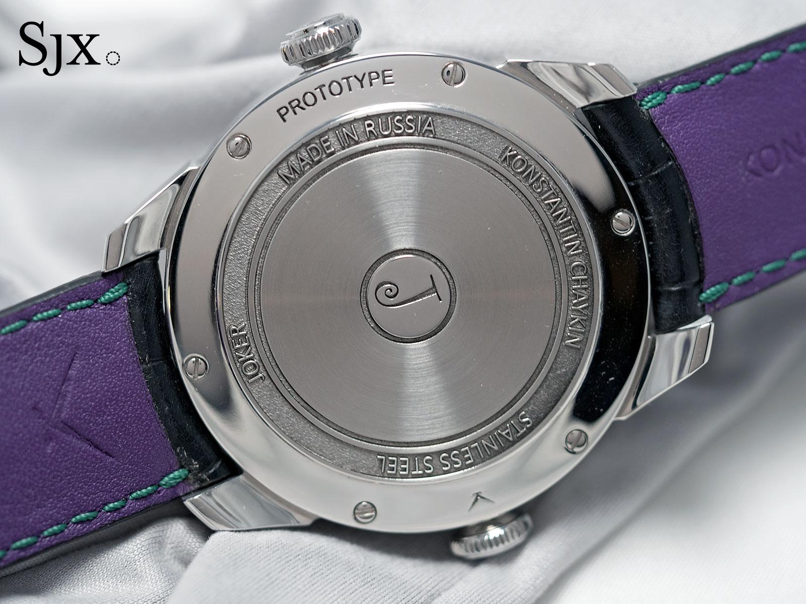 Konstantin Chaykin Joker wristwatch 9