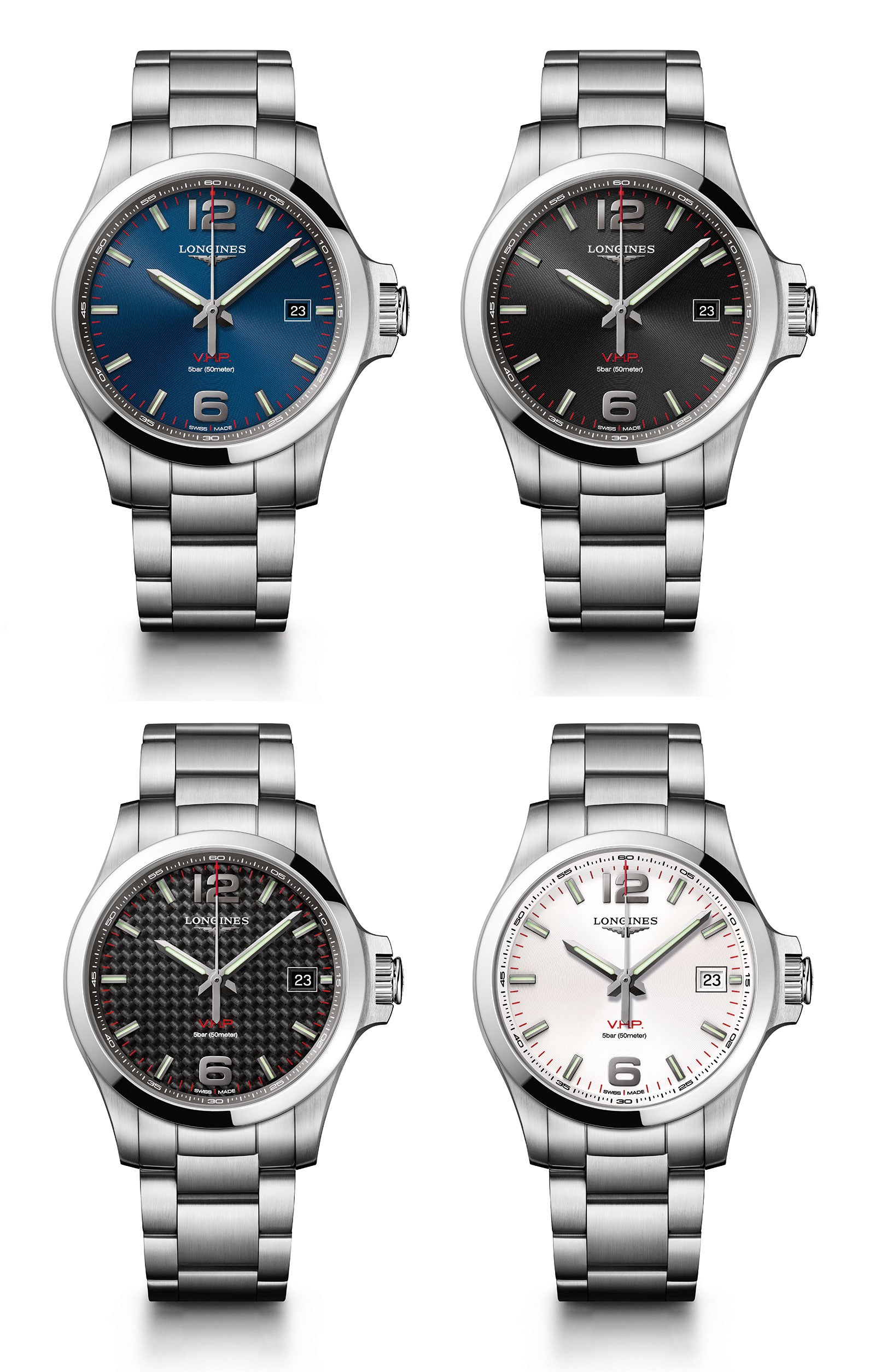 Longines Conquest V.H.P. 3-hands 1