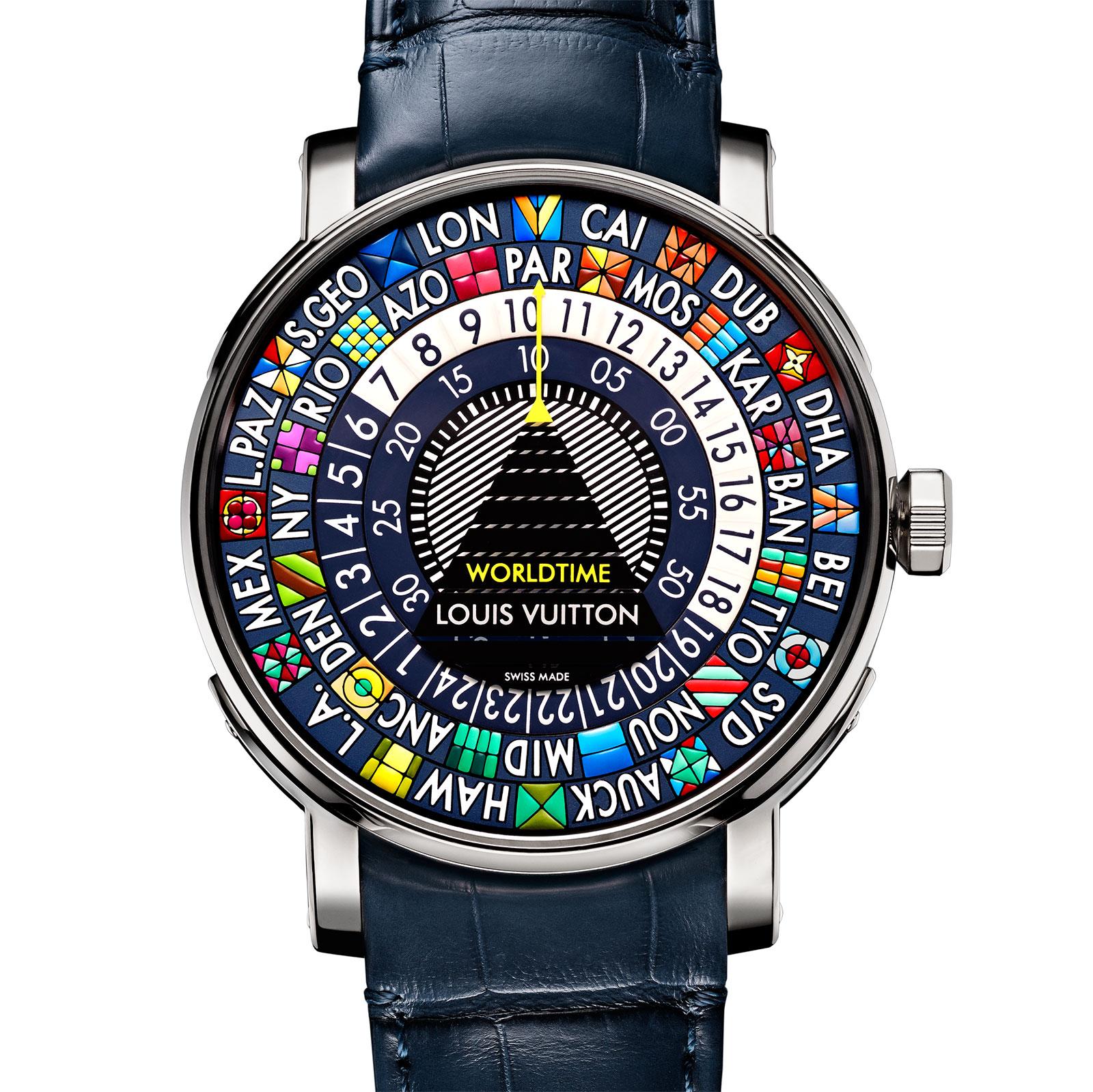Louis Vuitton Escale Worldtime Blue