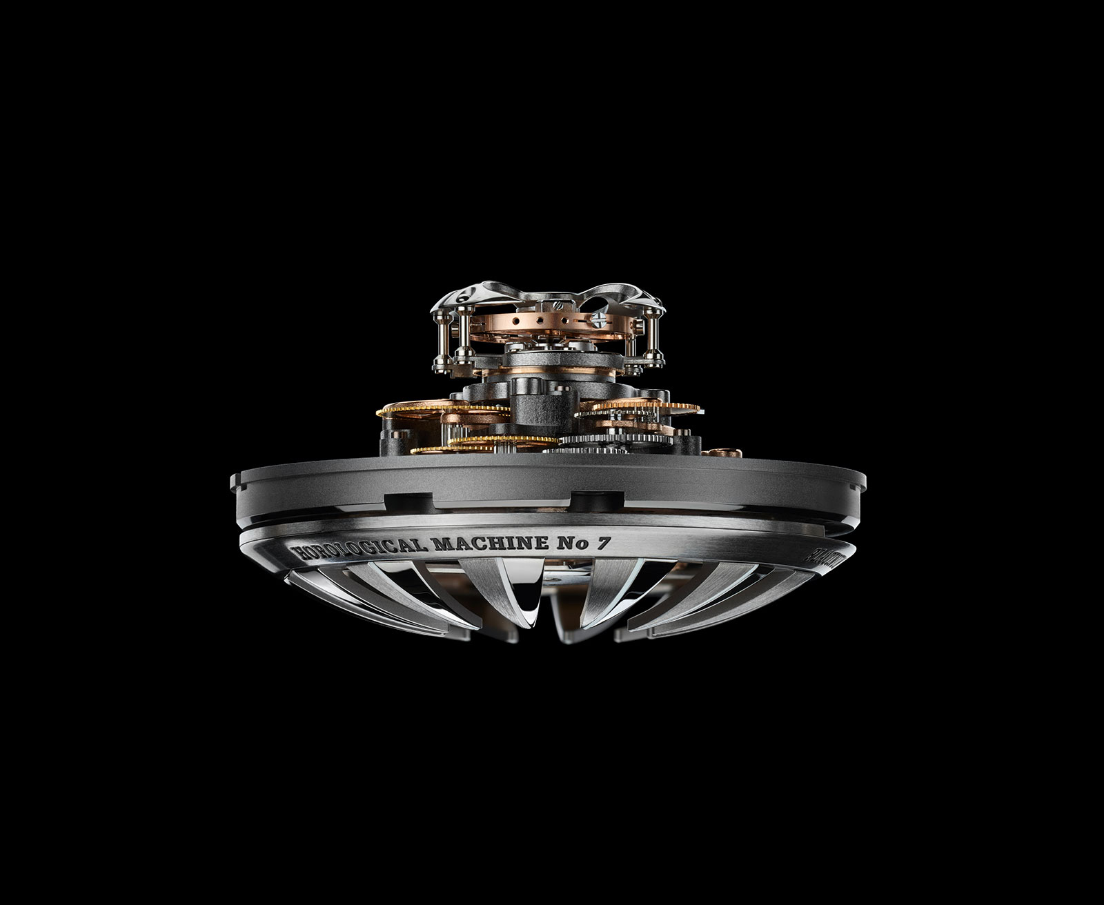 MB&F HM7 Aquapod movement