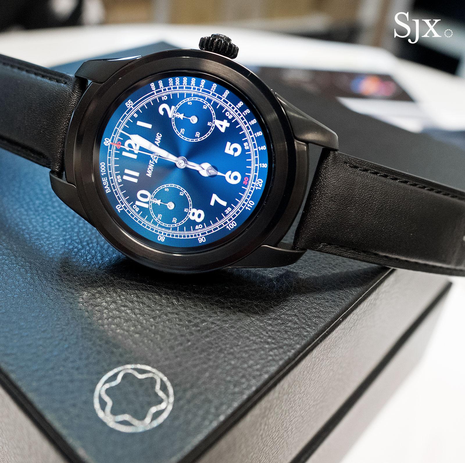 Montblanc Summit smartwatch 1