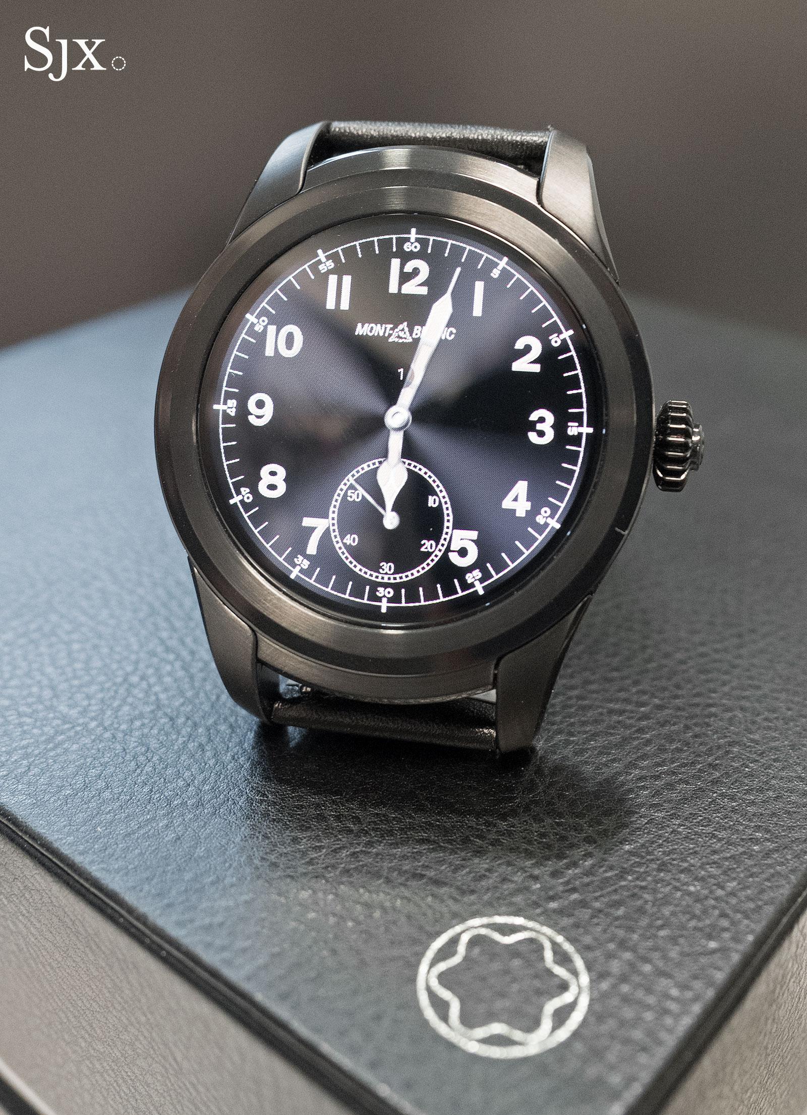 Montblanc Summit smartwatch 2