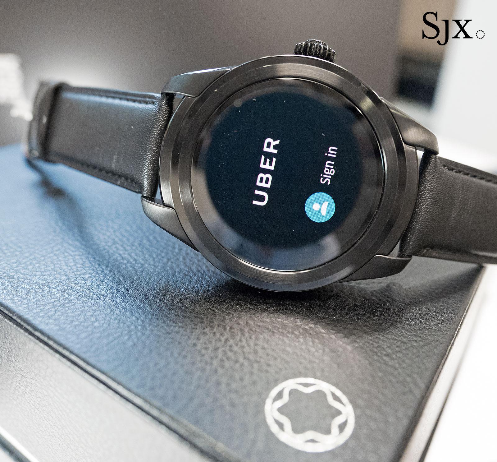 Montblanc Summit smartwatch 3