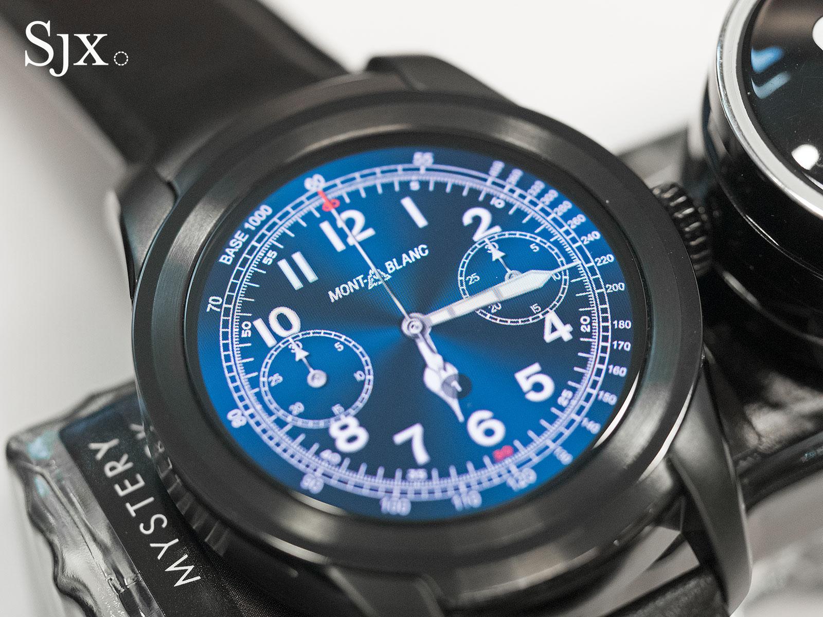 Montblanc Summit smartwatch 7