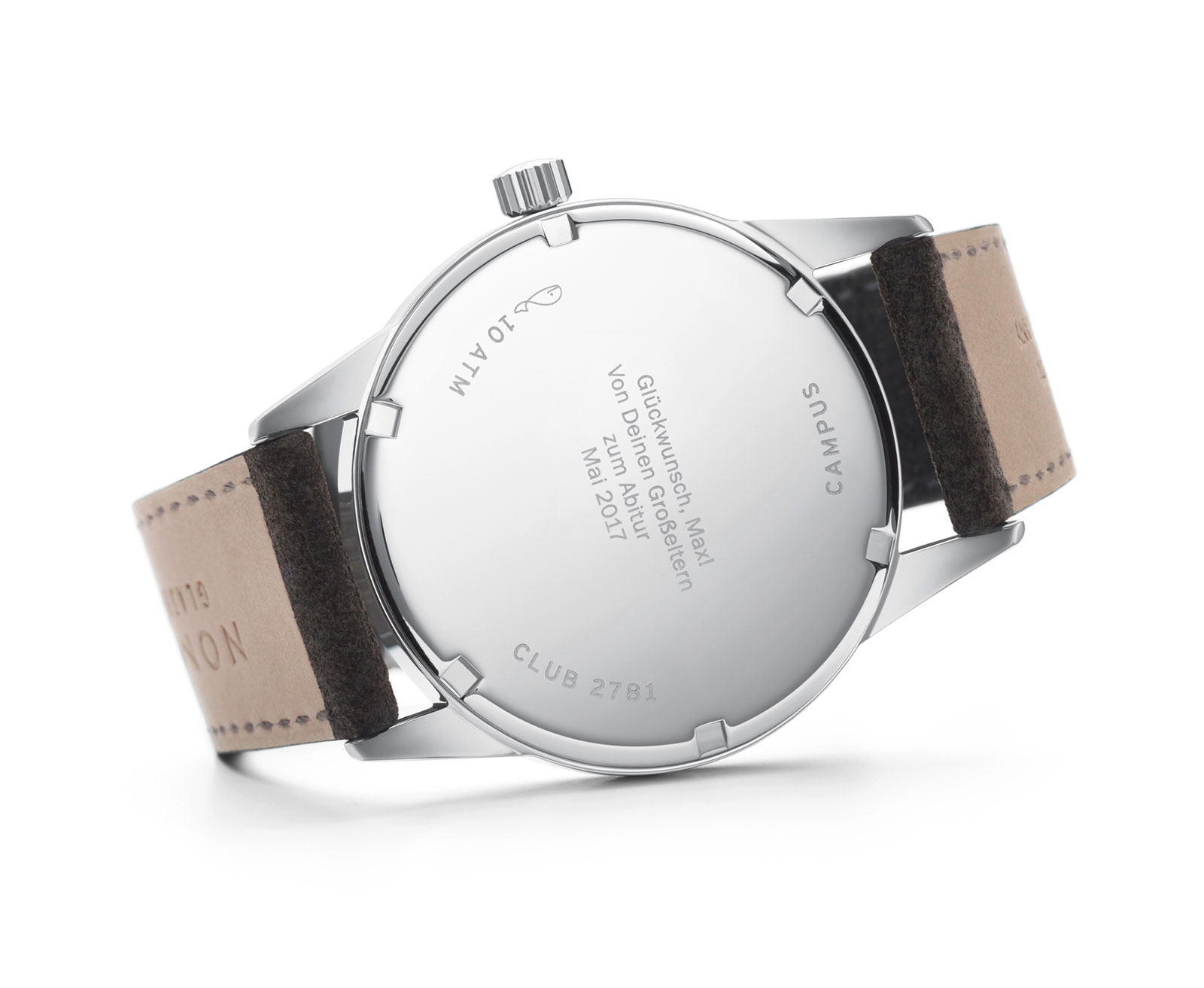 Nomos Club Campus watch 3