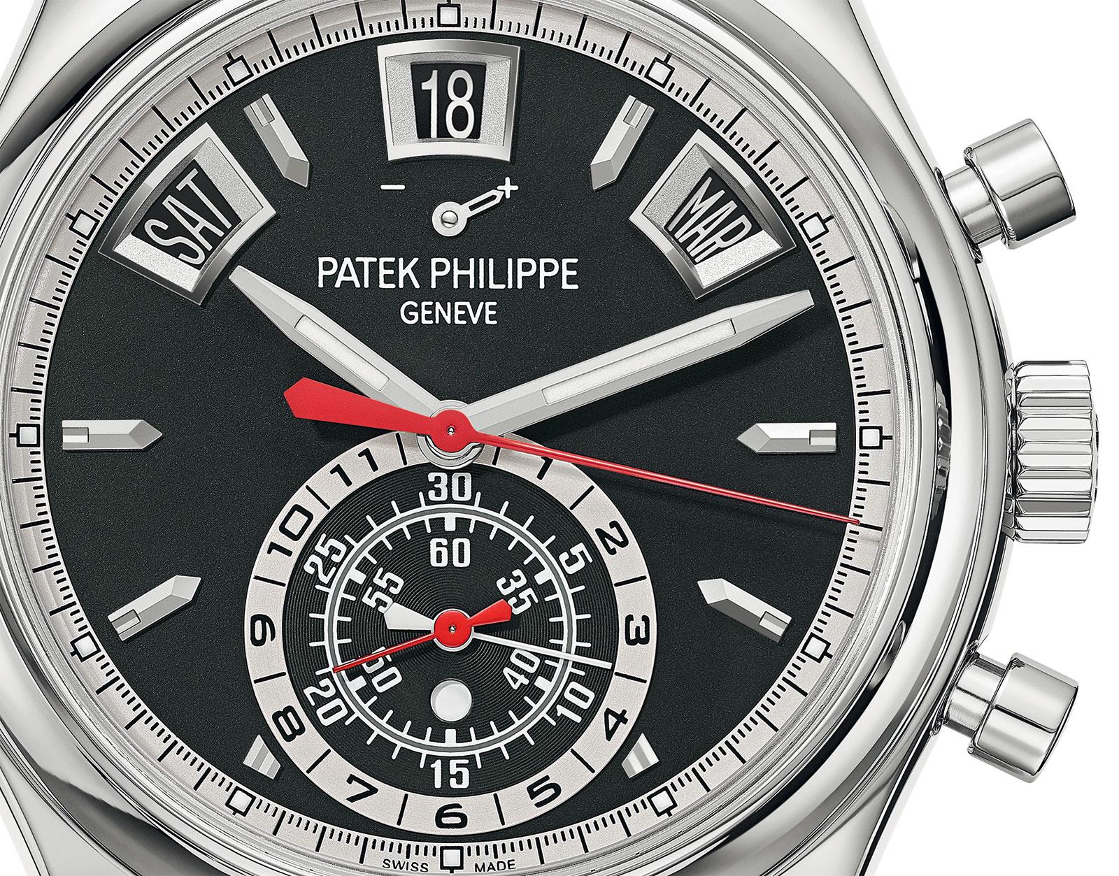 Patek Philippe 5960-1A black dial 1