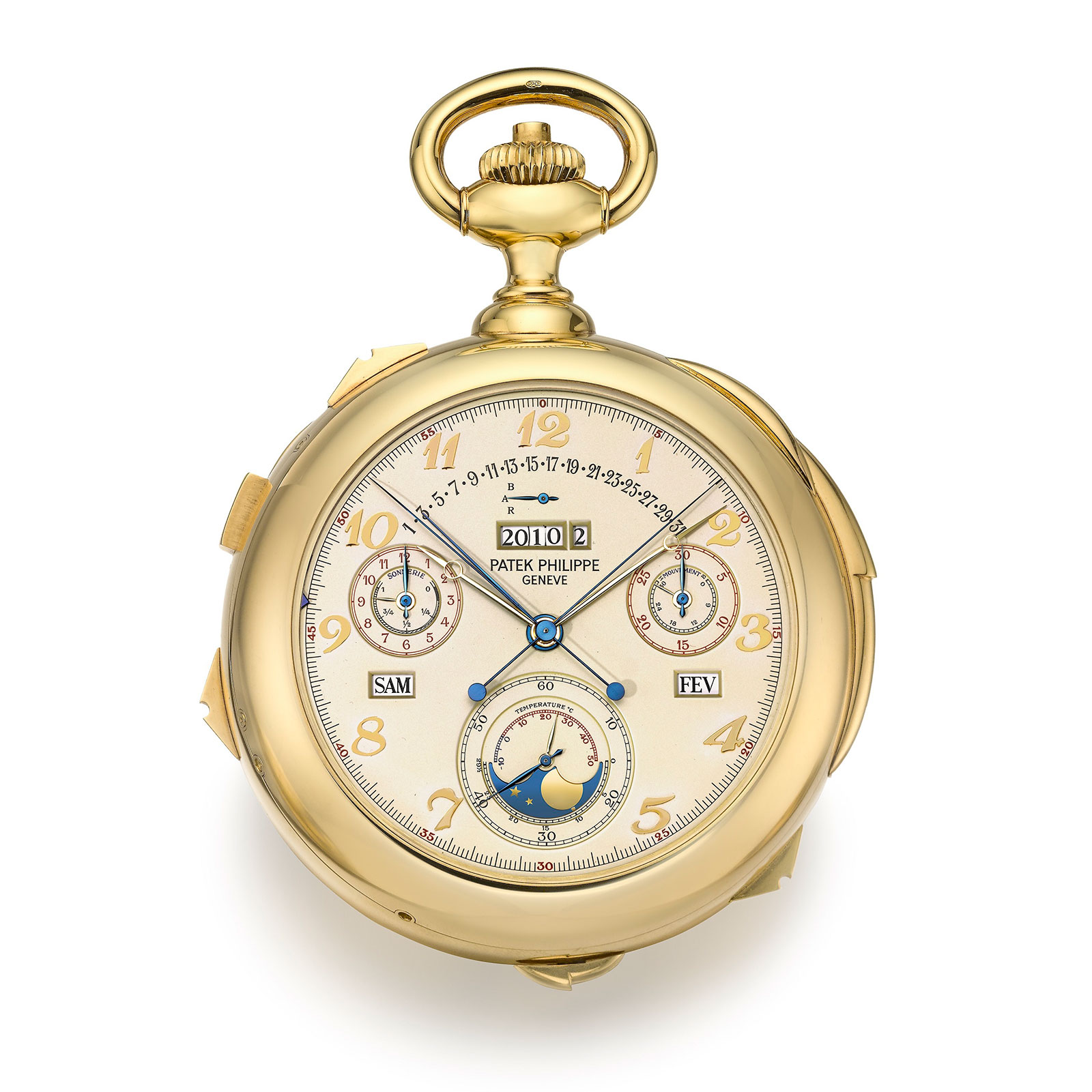 Patek Philippe calibre 89 yellow gold sothebys 1