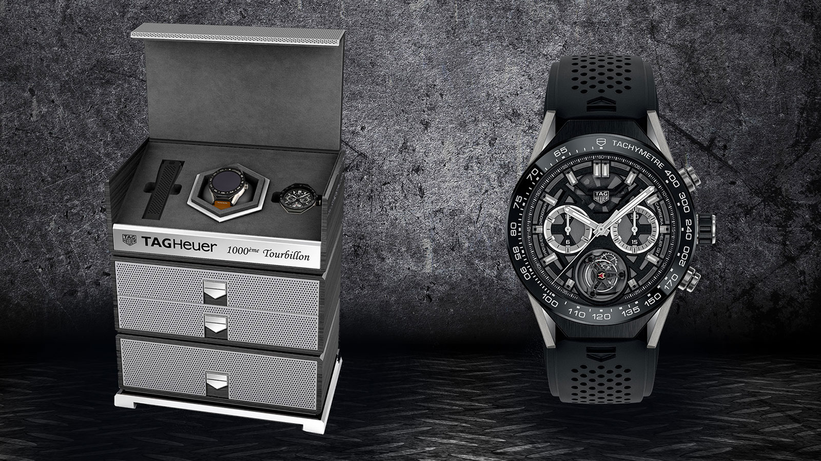TAG Heuer 1000th COSC tourbillon chronograph