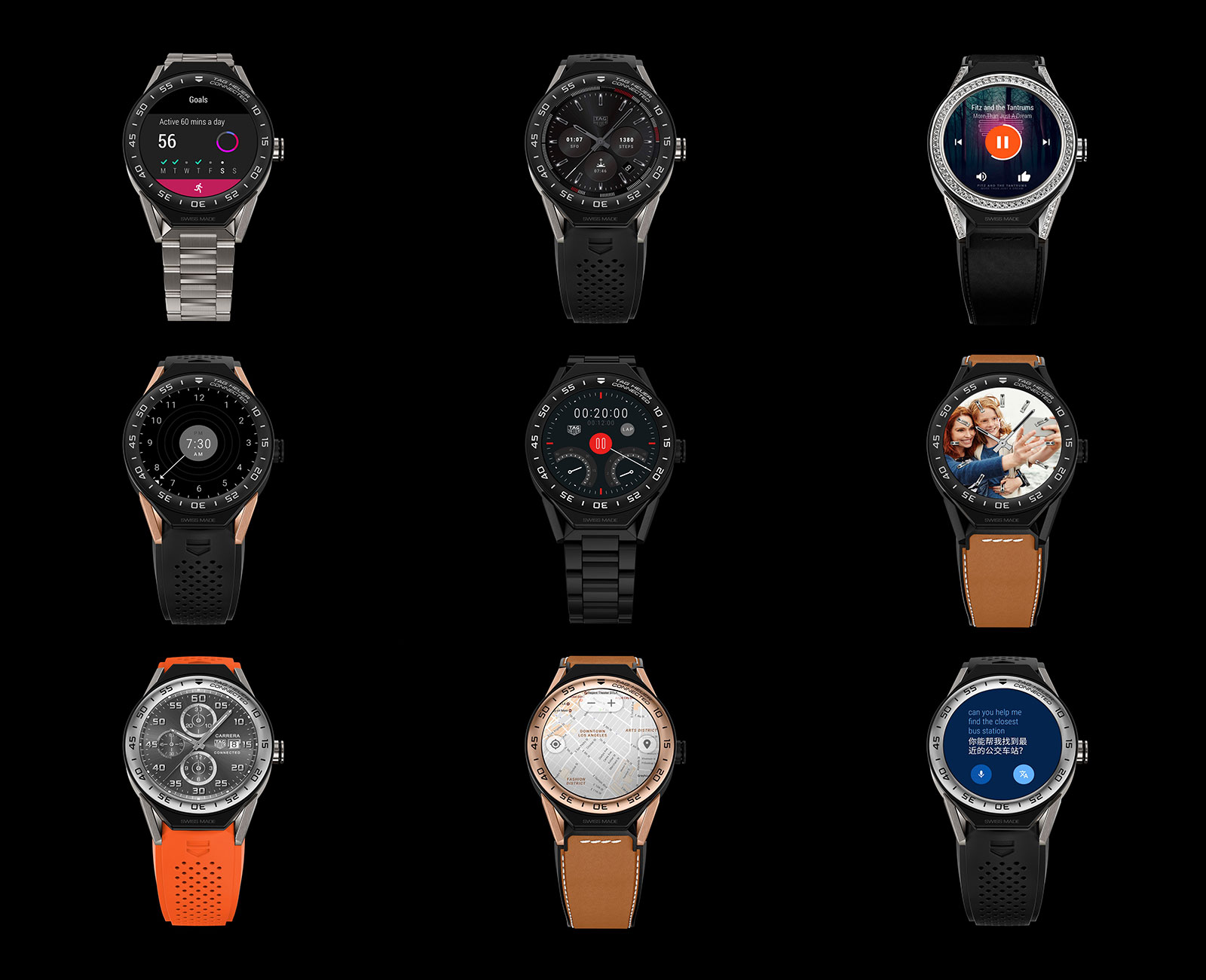 429c35e0574 TAG Heuer Introduces Customisable Smartwatch That Can Be Converted ...