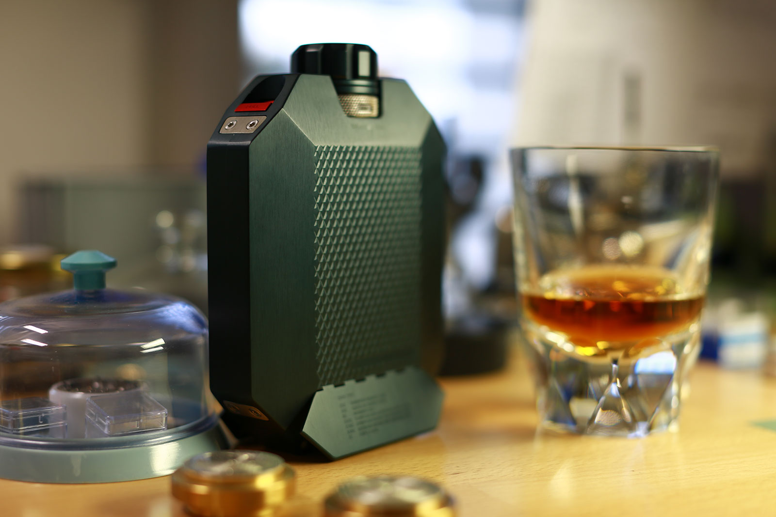 The Macallan x URWERK Flask 2-5