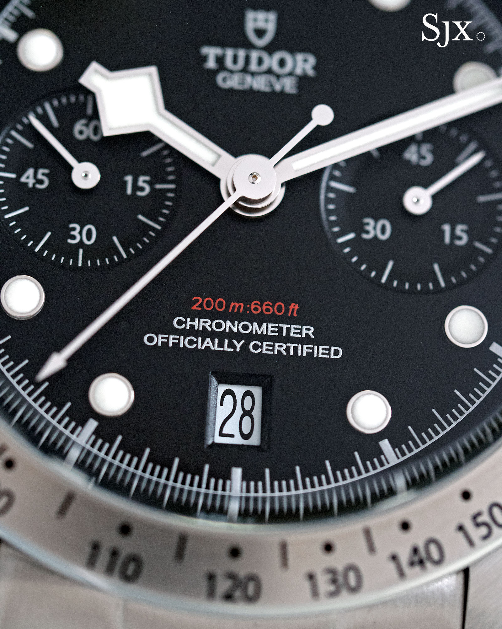 Tudor Black Bay Chrono 79350-3
