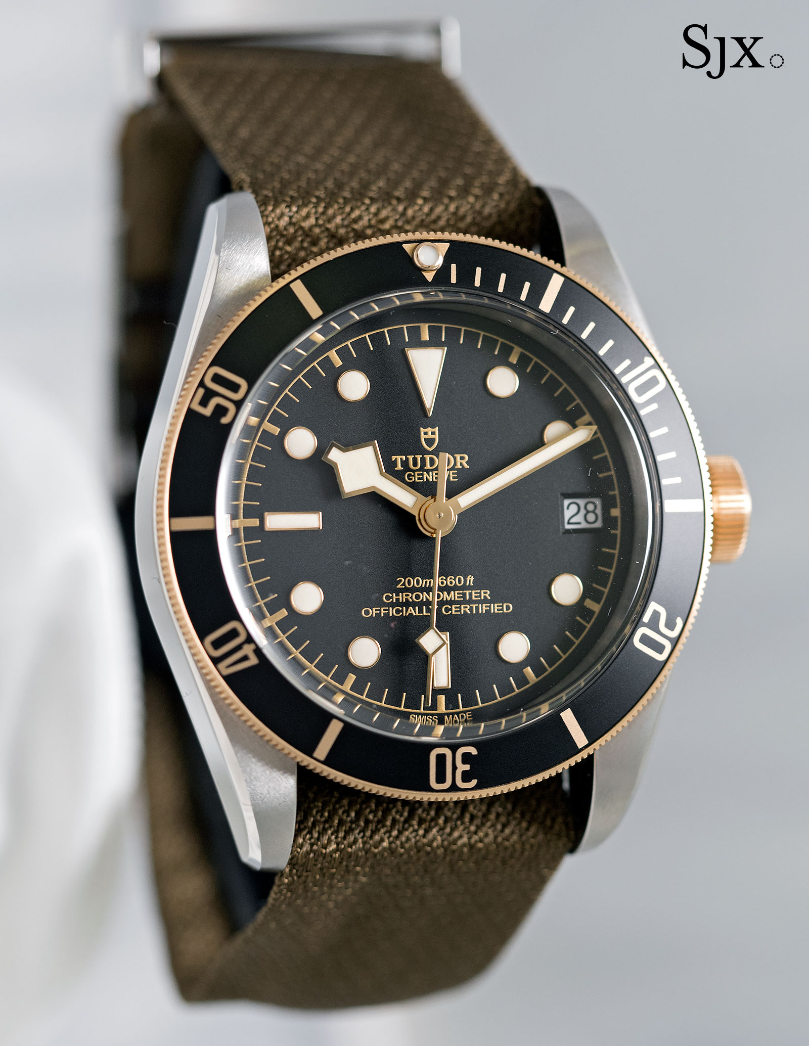 Hands on with the two tone tudor diver the black bay s g - Tudor dive watch price ...