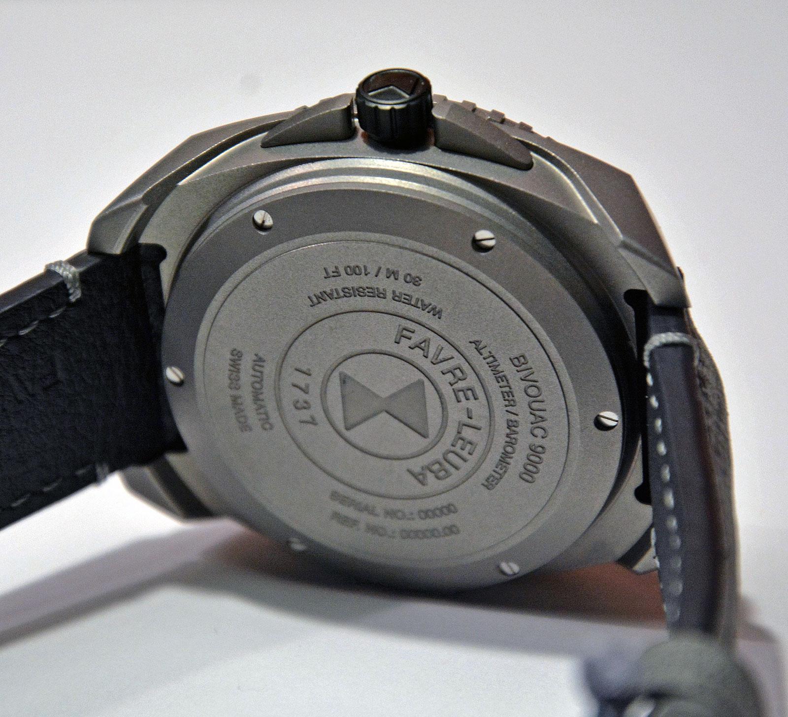Favre-Leuba Bivouac 9000-3