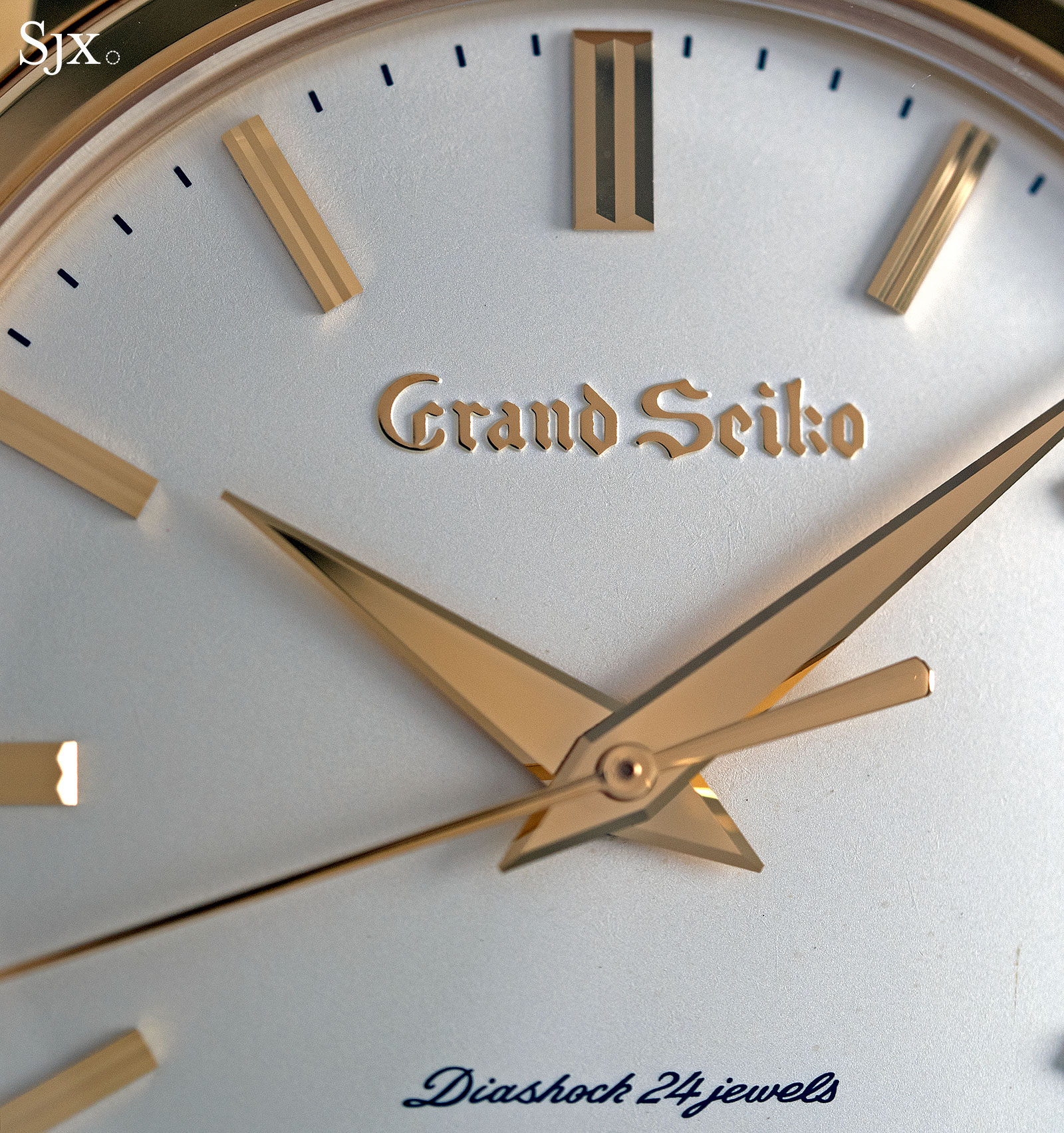 Grand Seiko remake SBGW252 gold 2