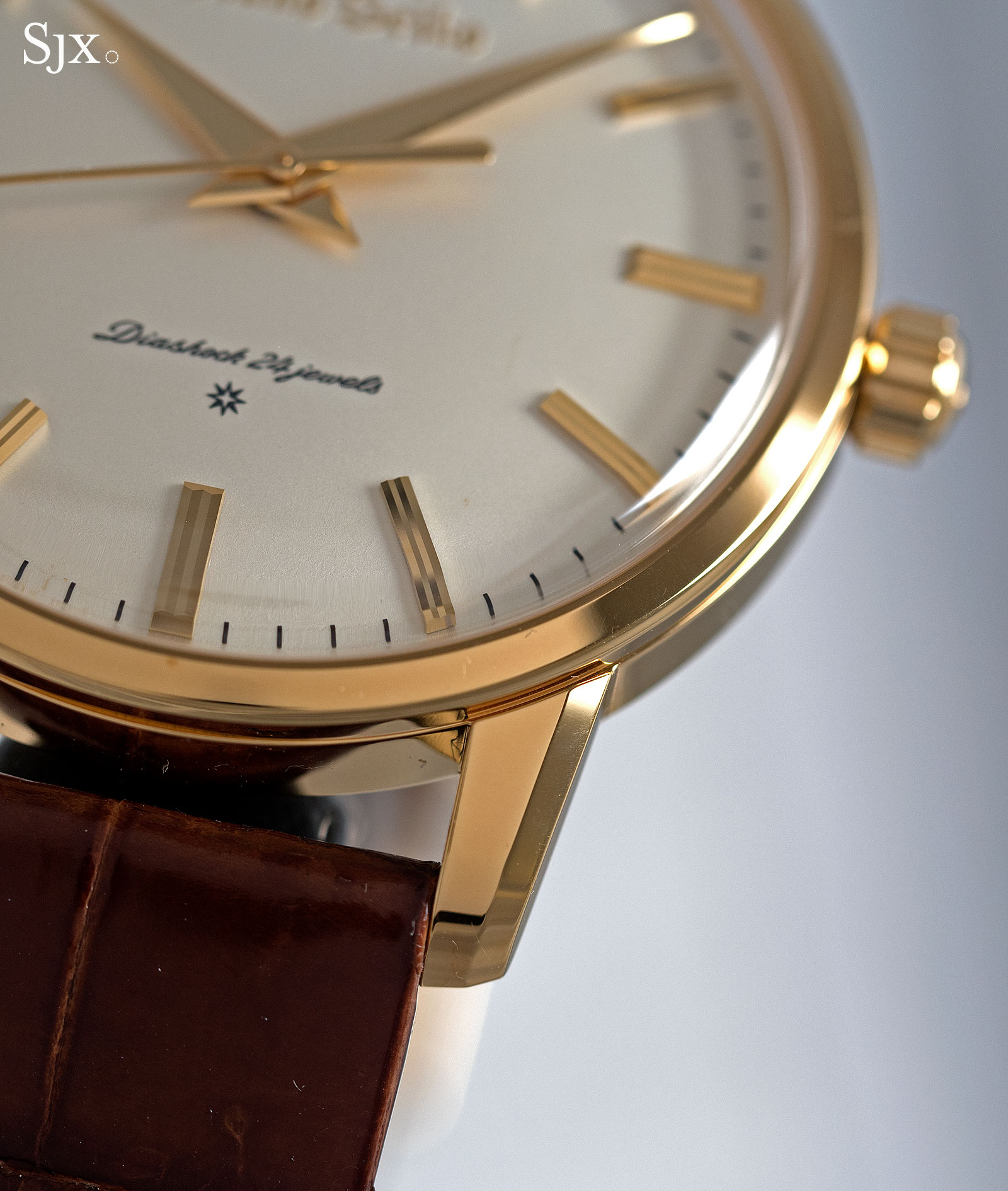Grand Seiko remake SBGW252 gold 6