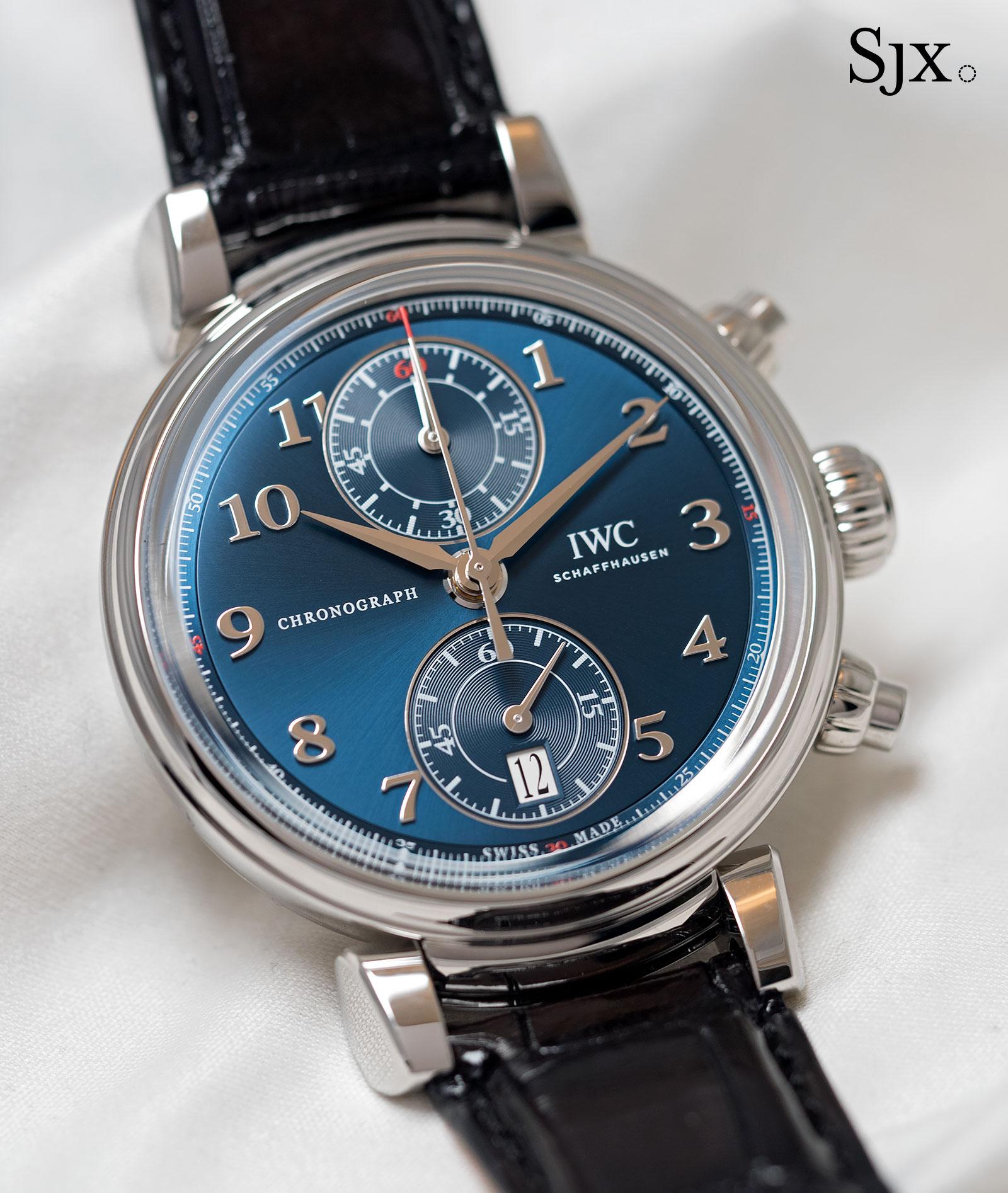 IWC Da Vinci Laureus Chronograph 1