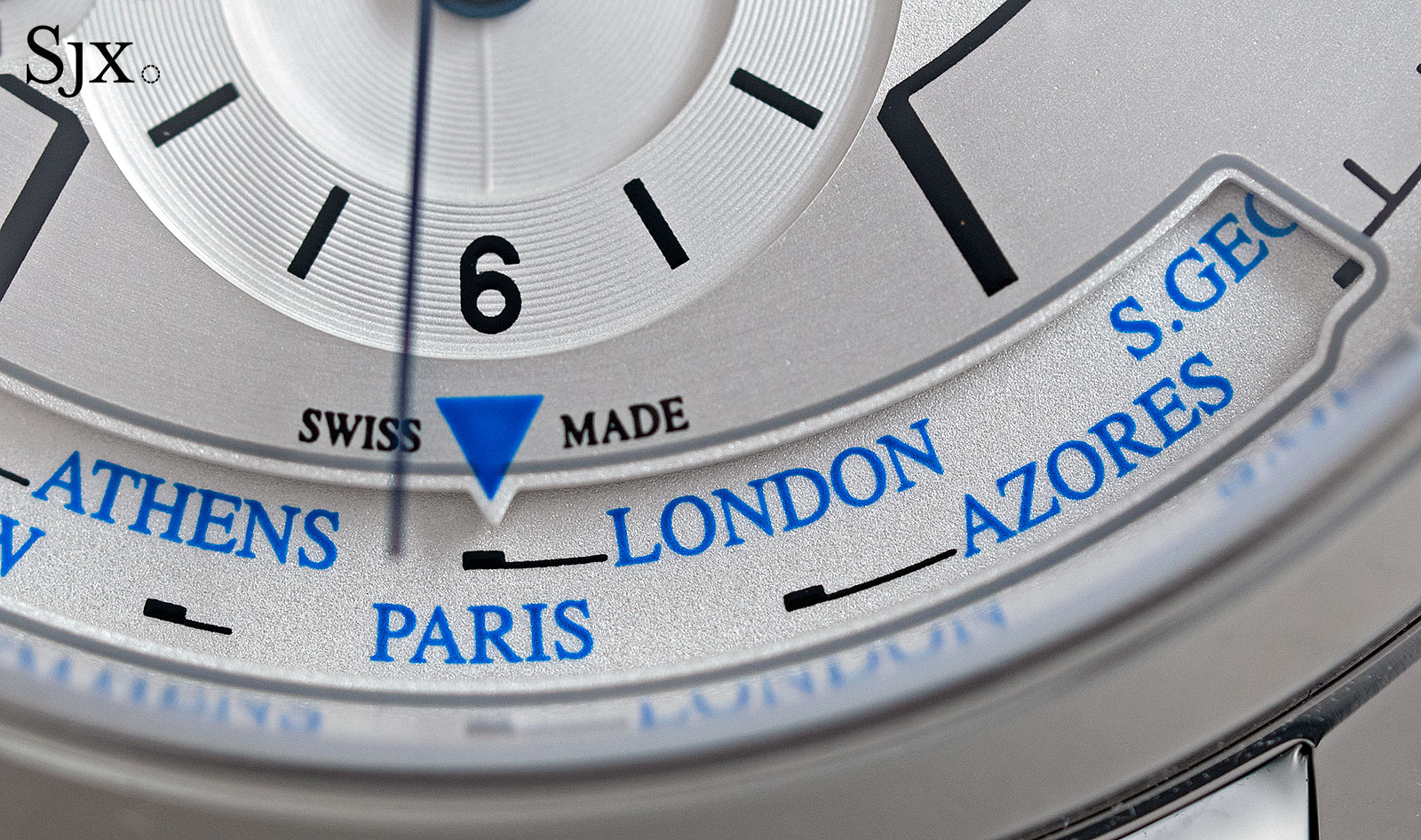 Jaeger-LeCoultre Master Control Geographic sector dial 7