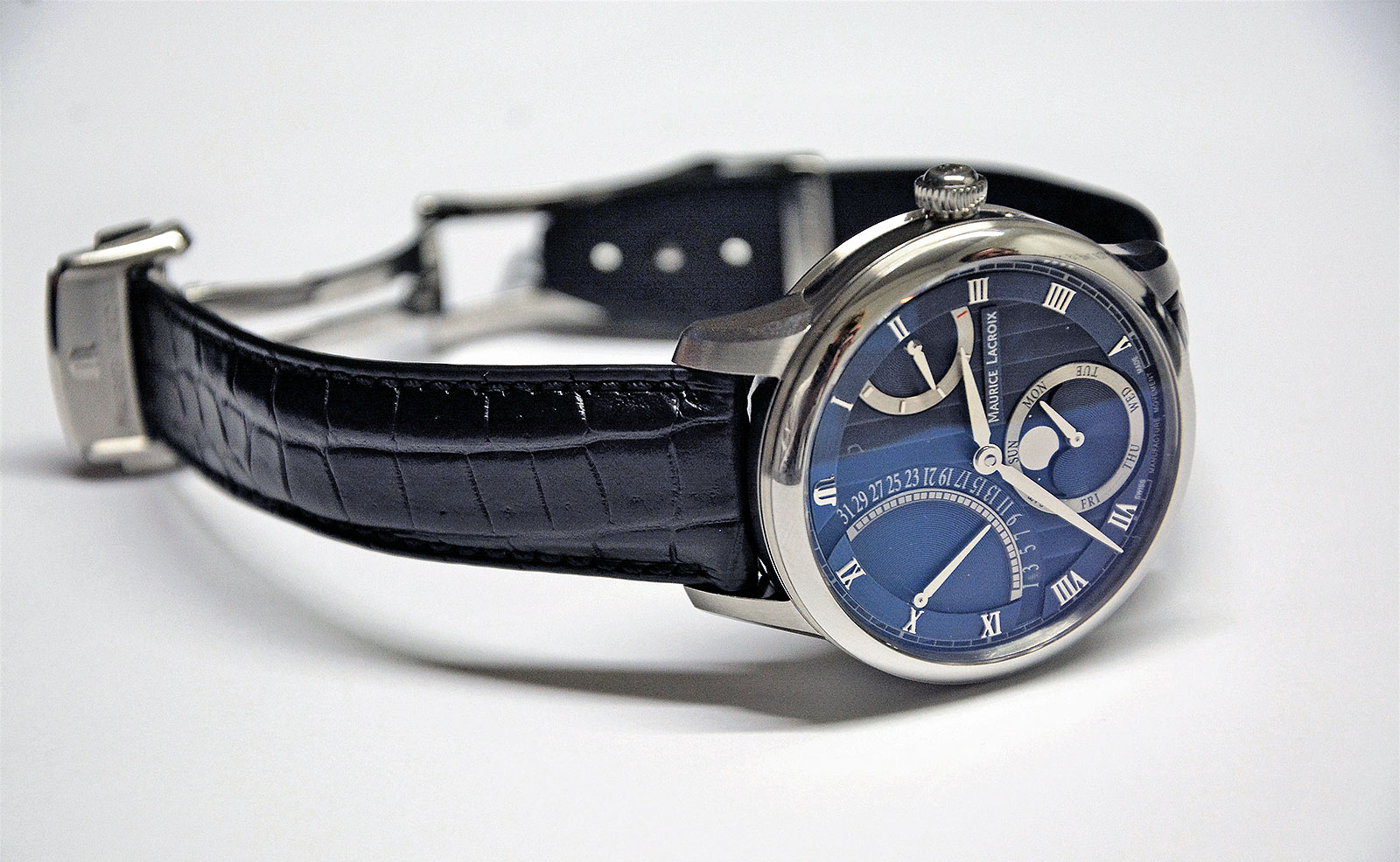 Maurice Lacroix Masterpiece Moon Retrograde 1