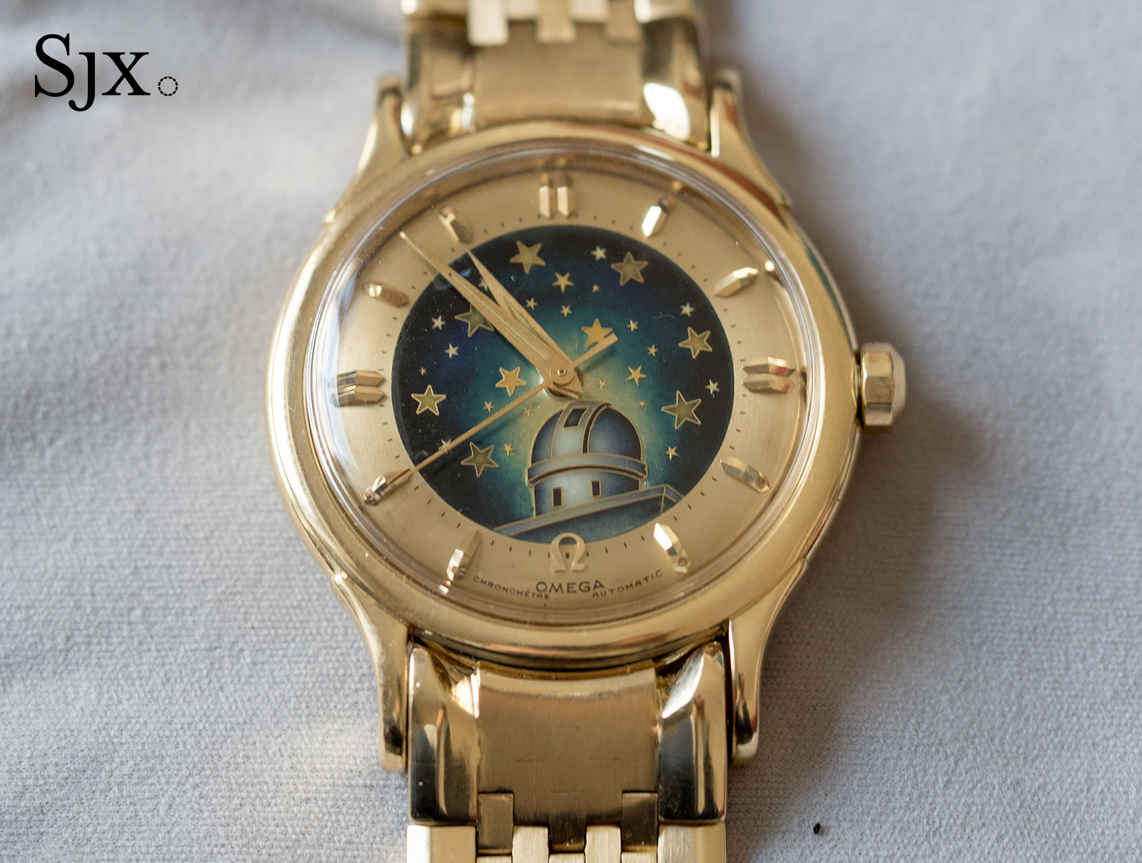 Omega Constellation De Luxe cloisonne enamel 1