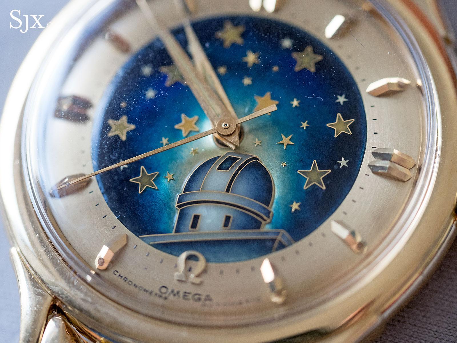 Omega Constellation De Luxe cloisonne enamel 2