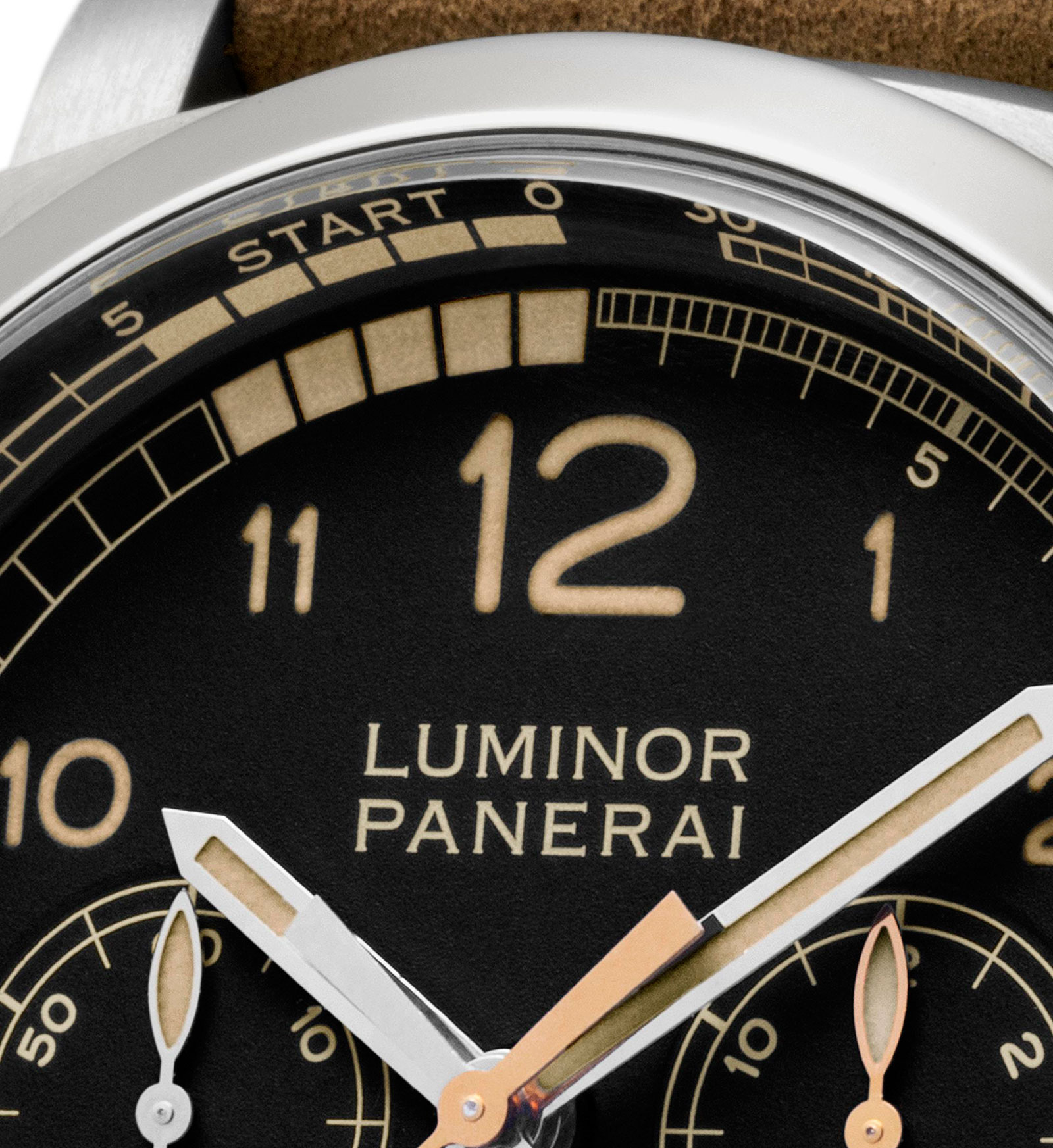 Panerai Luminor 1950 Regatta PCYC Chrono PAM652 dial