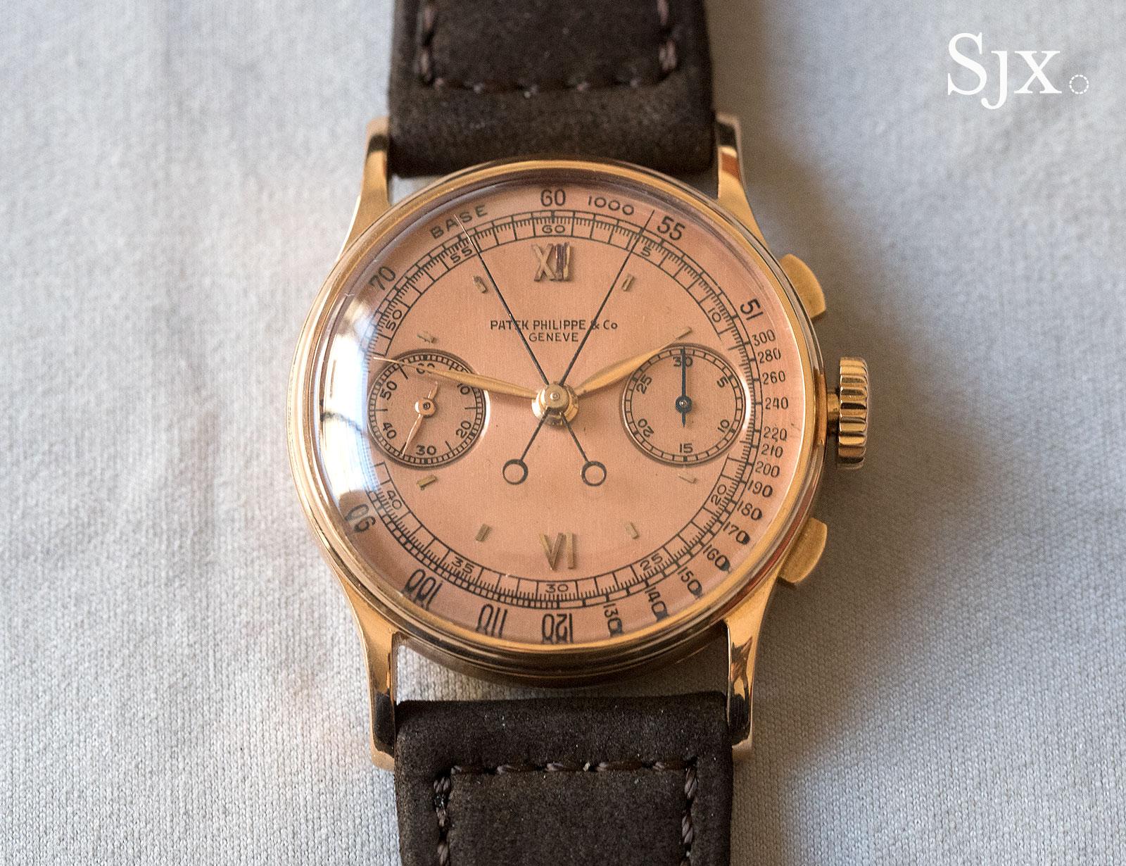 Patek Philppe 1436 pink gold 1