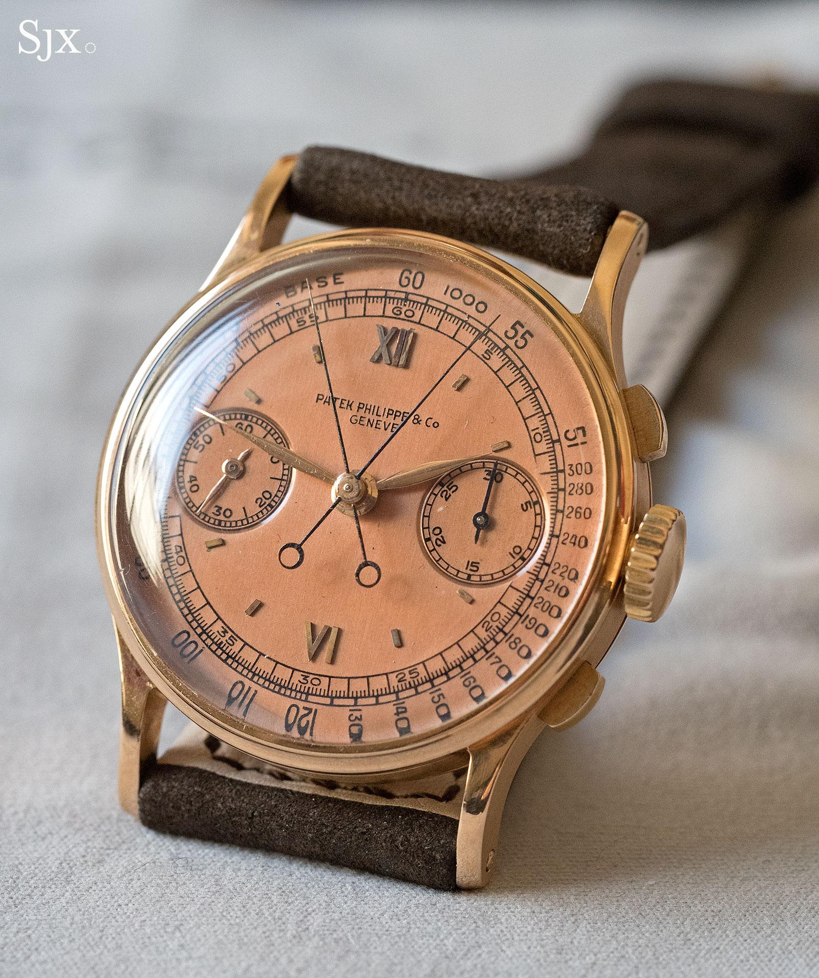 Patek Philppe 1436 pink gold 6